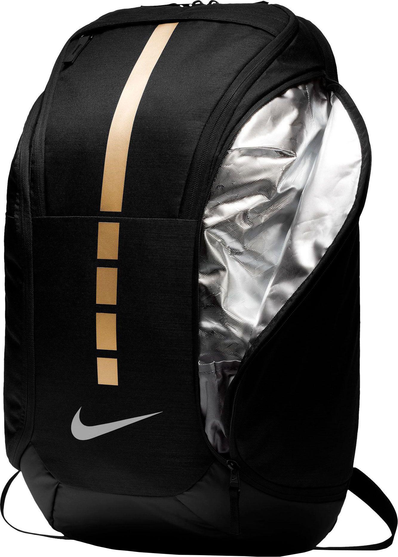Lyst - Nike Hoops Elite Pro Basketball Backpack in Black for Men 7378d329073e4