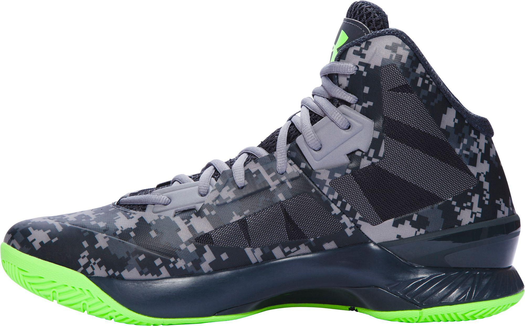 fe98ad3fdafc Under Armour - Multicolor Clutchfit Lightning Basketball Shoes for Men -  Lyst