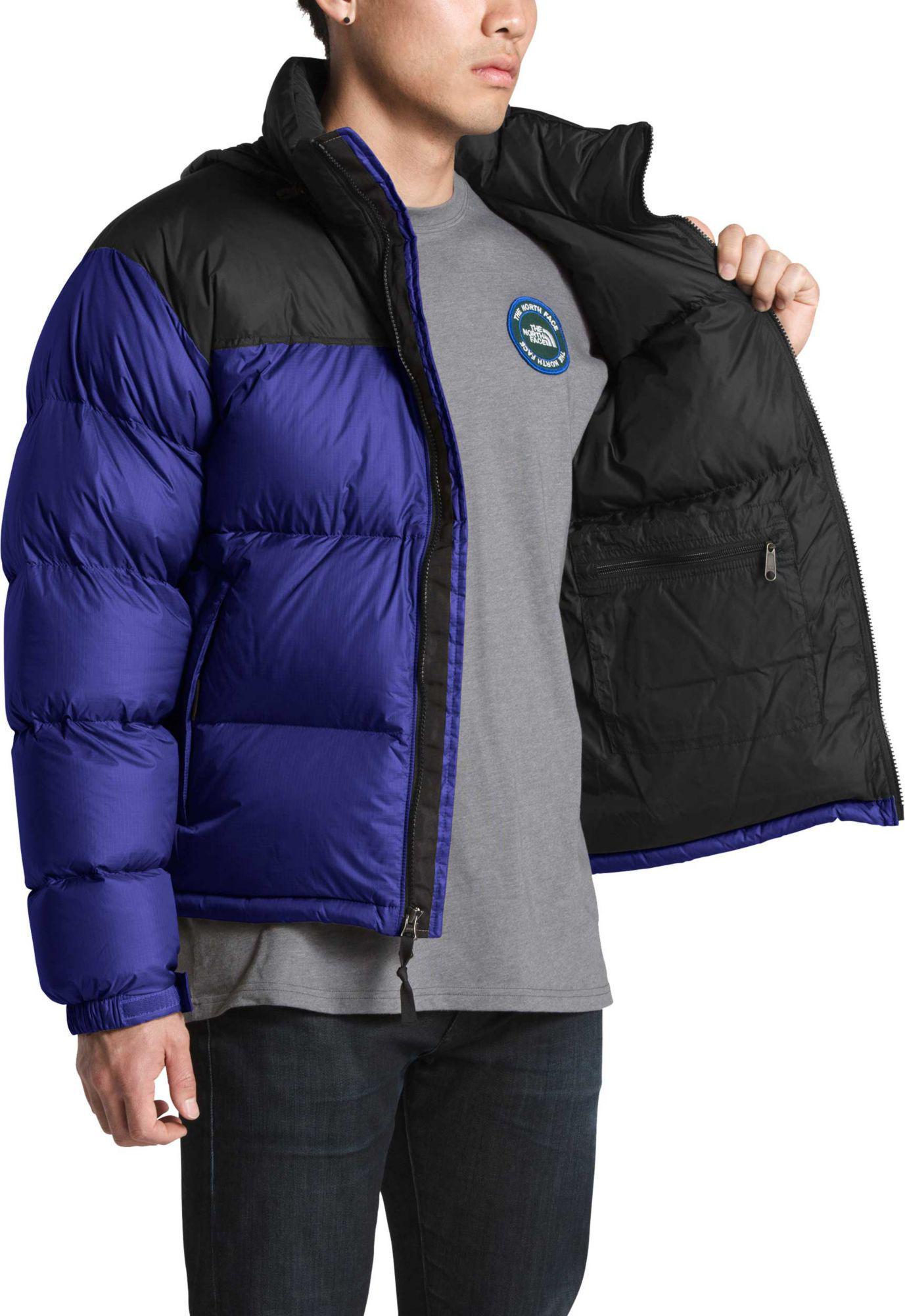 The North Face - Blue 1996 Retro Nuptse Jacket for Men - Lyst. View  fullscreen ec457fb68