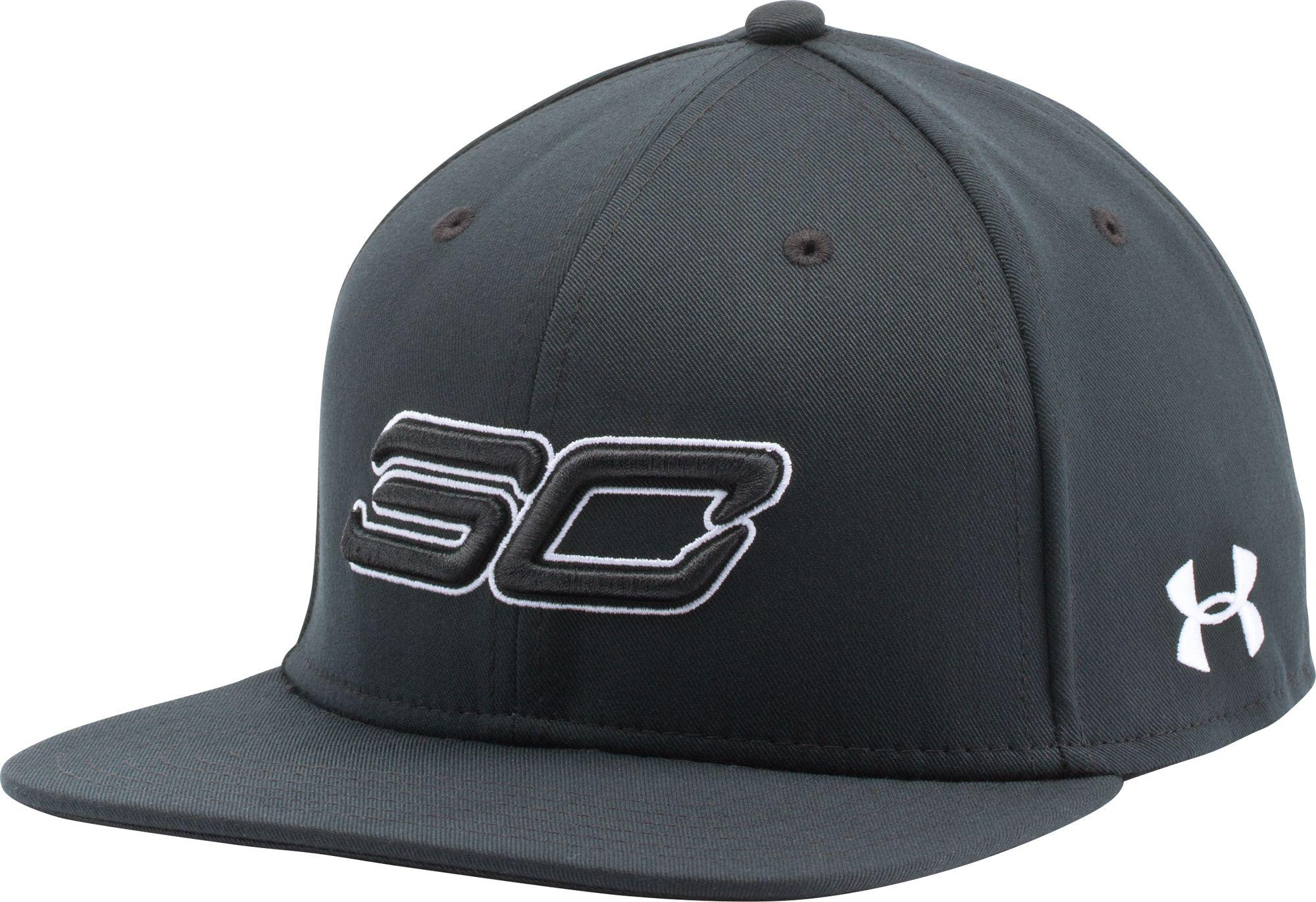d8f18c94b8443 Lyst - Under Armour Sc30 Snapback Basketball Hat in Black for Men