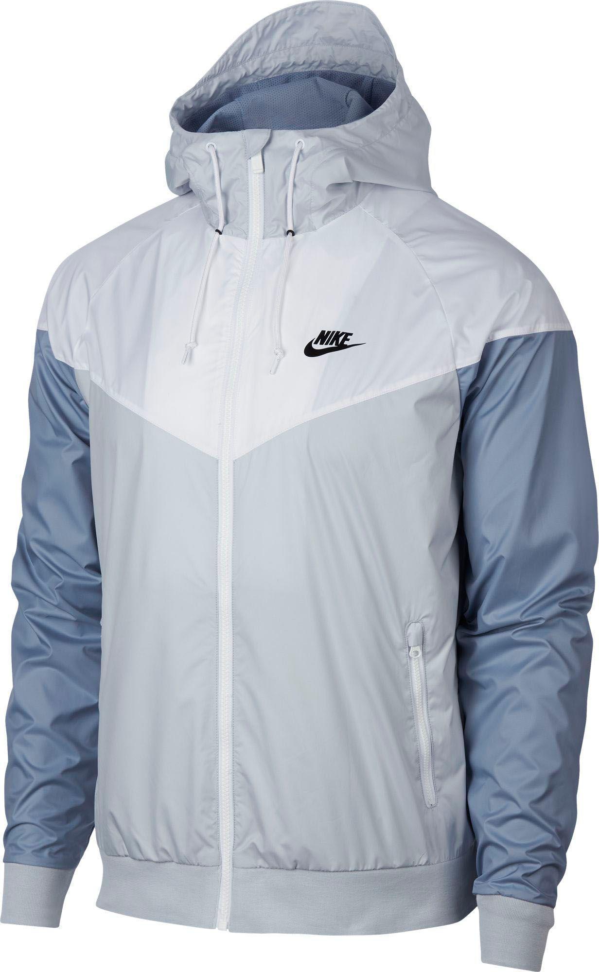 Lyst - Nike Windrunner Full Zip Jacket in White for Men 4486219bf