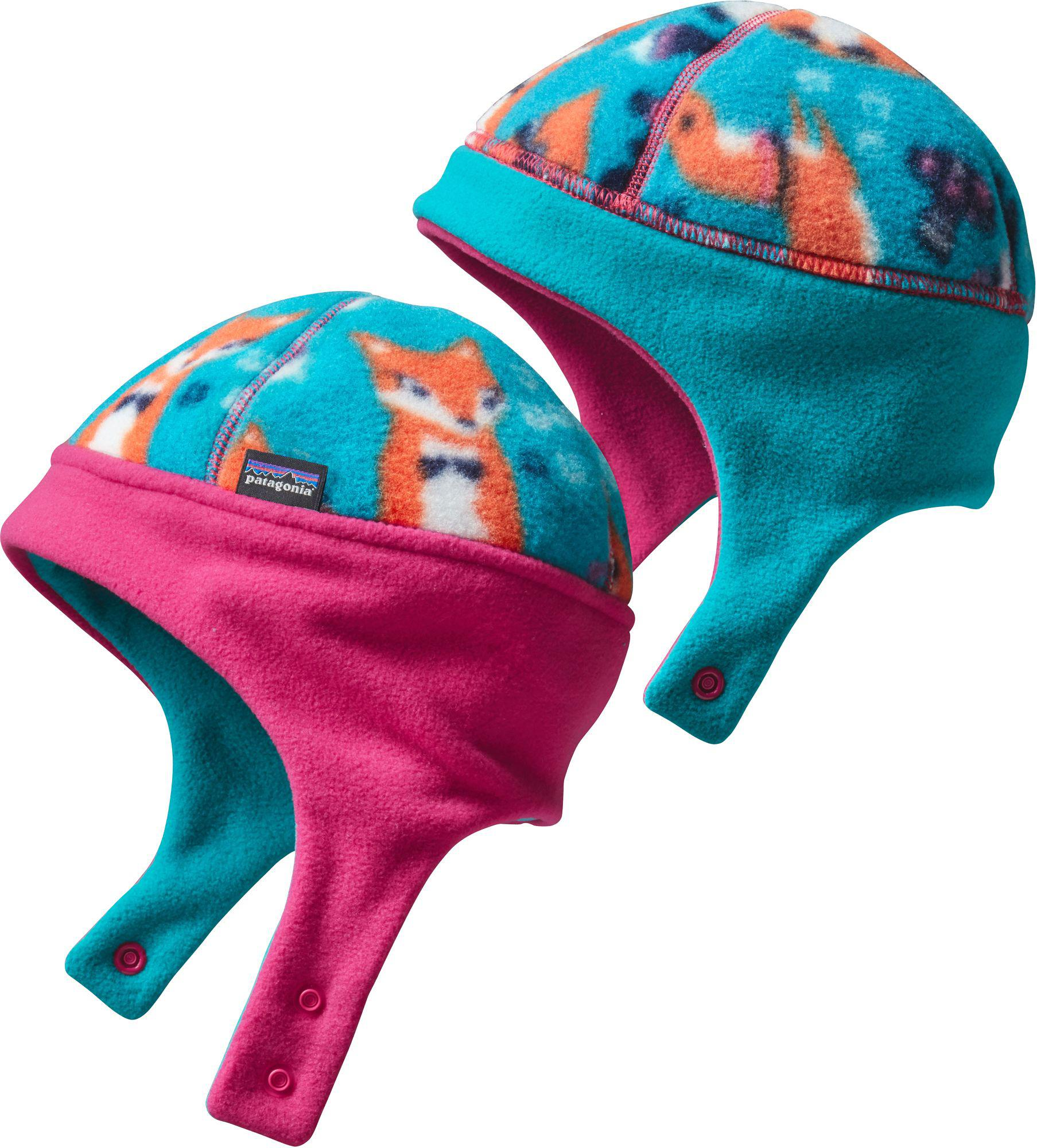 91b60e71b64 Patagonia - Blue Infant Reversible Synchilla Fleece Hat - Lyst. View  fullscreen