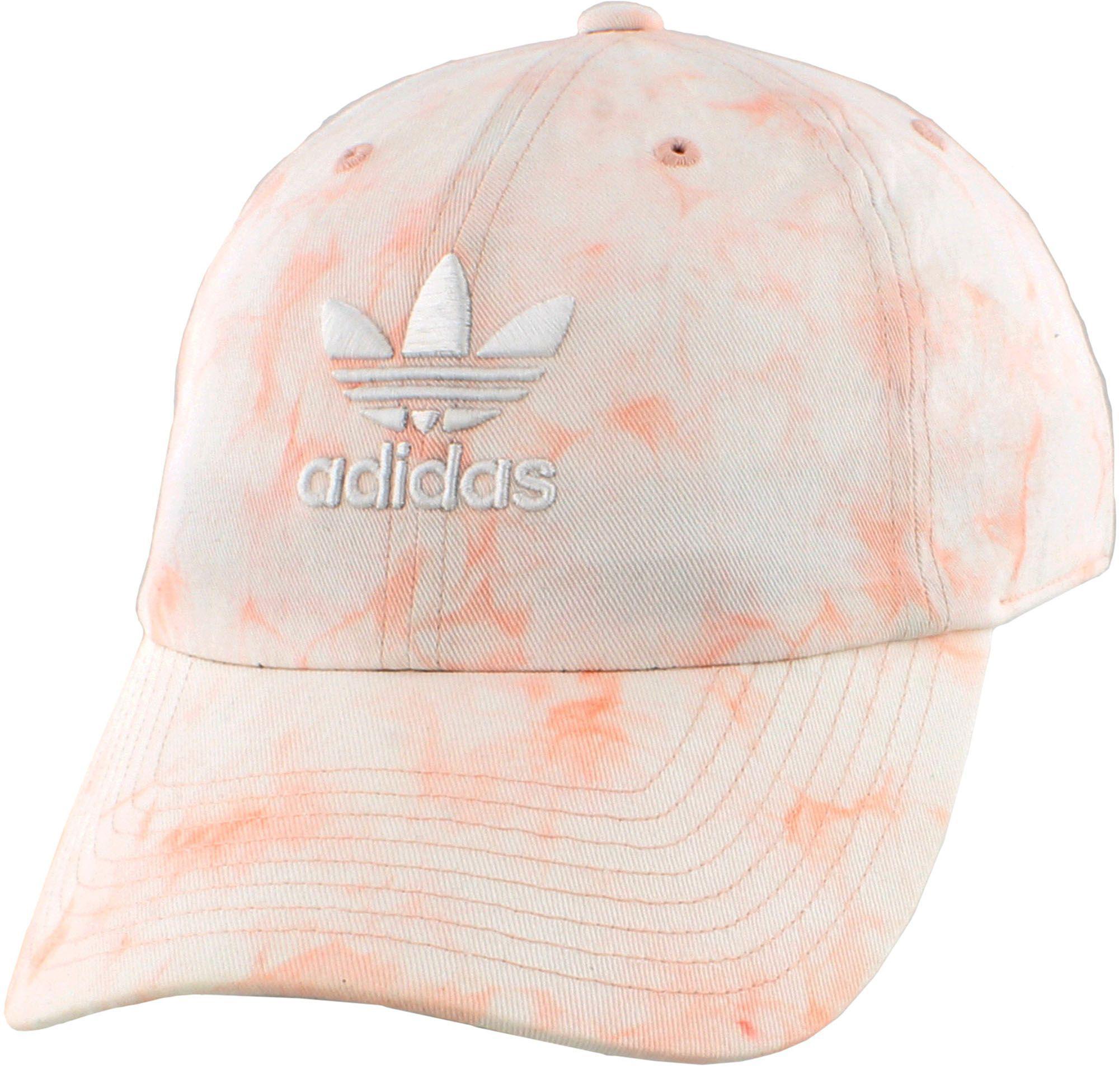 623b70b1c13 Lyst - adidas Originals Relaxed Tie Dye Strapback Hat in Pink