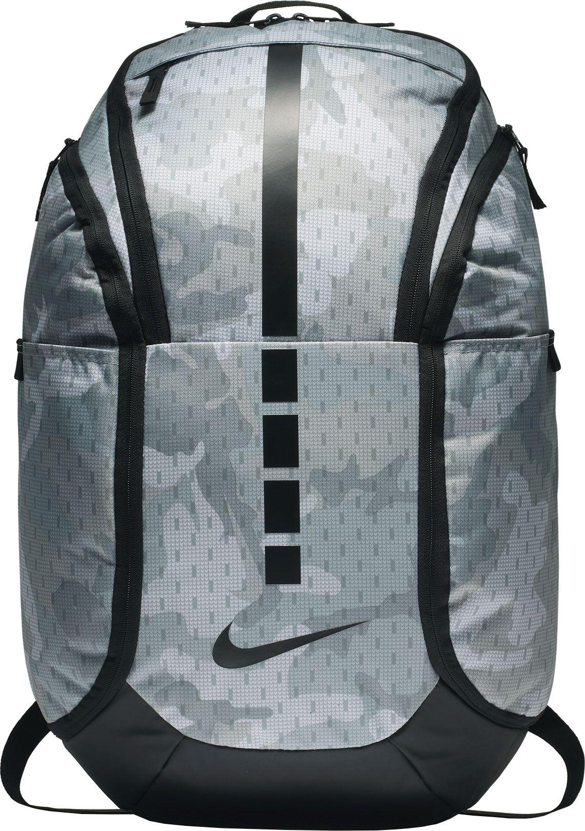 Lyst - Nike Hoops Elite Pro Camo Basketball Backpack in Gray for Men ac1195c840af2