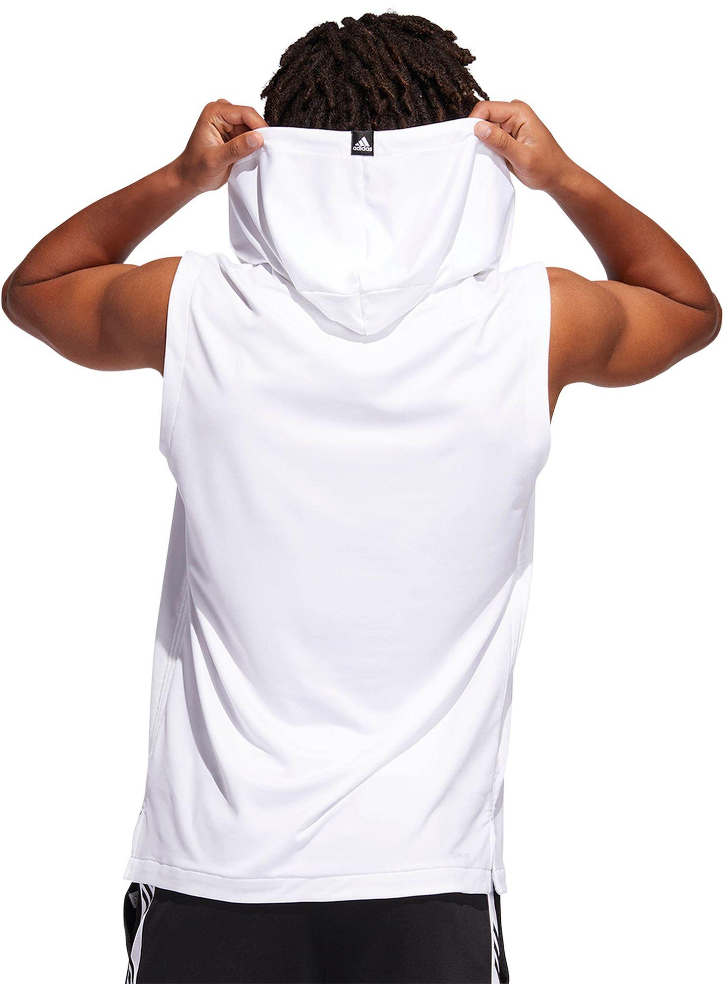 260b2cb6 Adidas - White Pro Madness Basketball Hoodie for Men - Lyst. View fullscreen