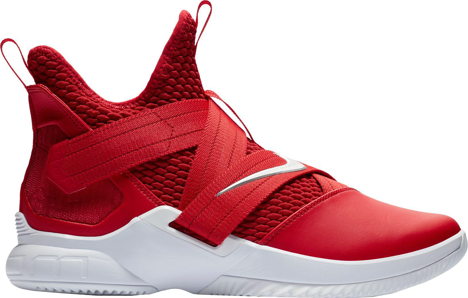 pretty nice 5244e 79c77 ... new zealand nike red zoom lebron soldier xii tb basketball shoes for  men lyst bfd81 6bb16
