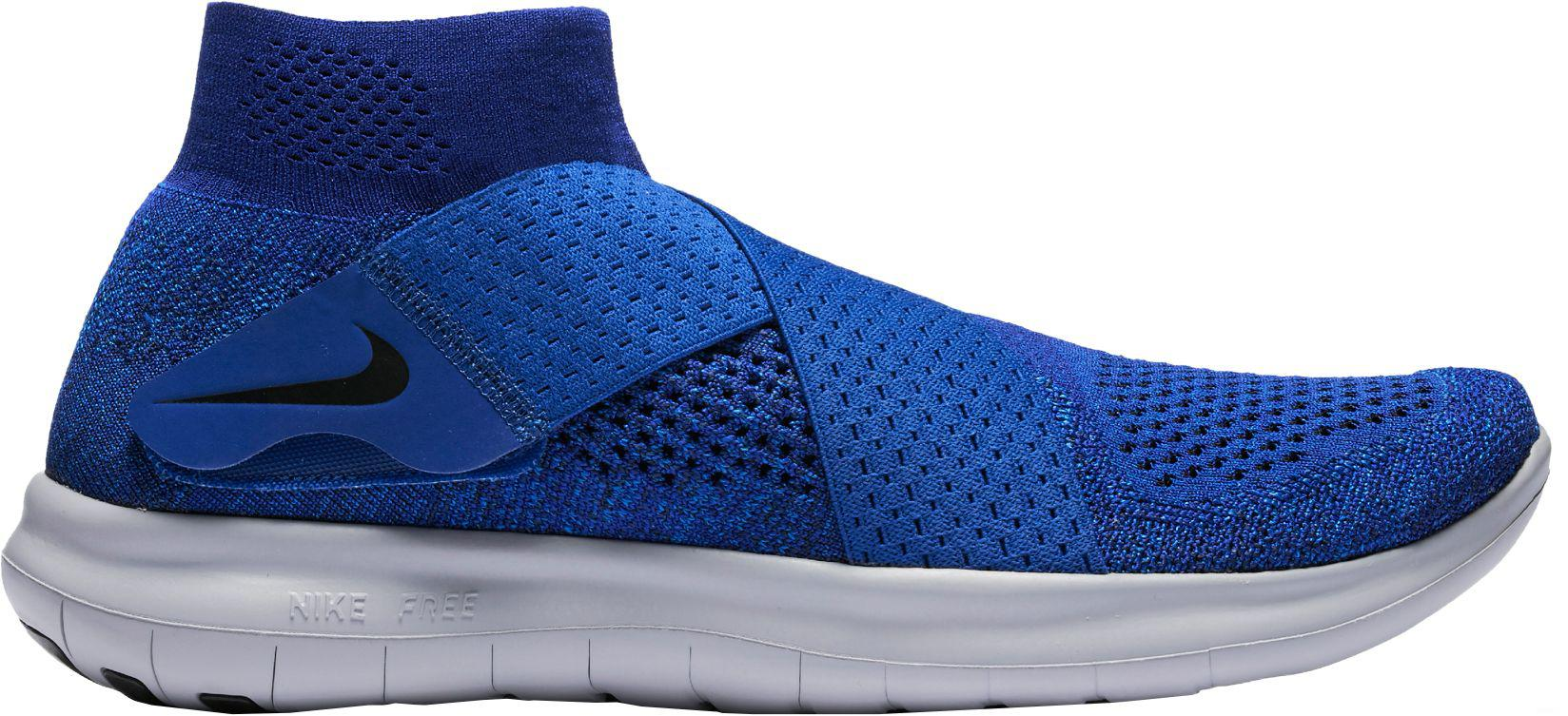0abab9b03b82 Lyst - Nike Free Rn Motion Flyknit 2 Running Shoes in Blue for Men