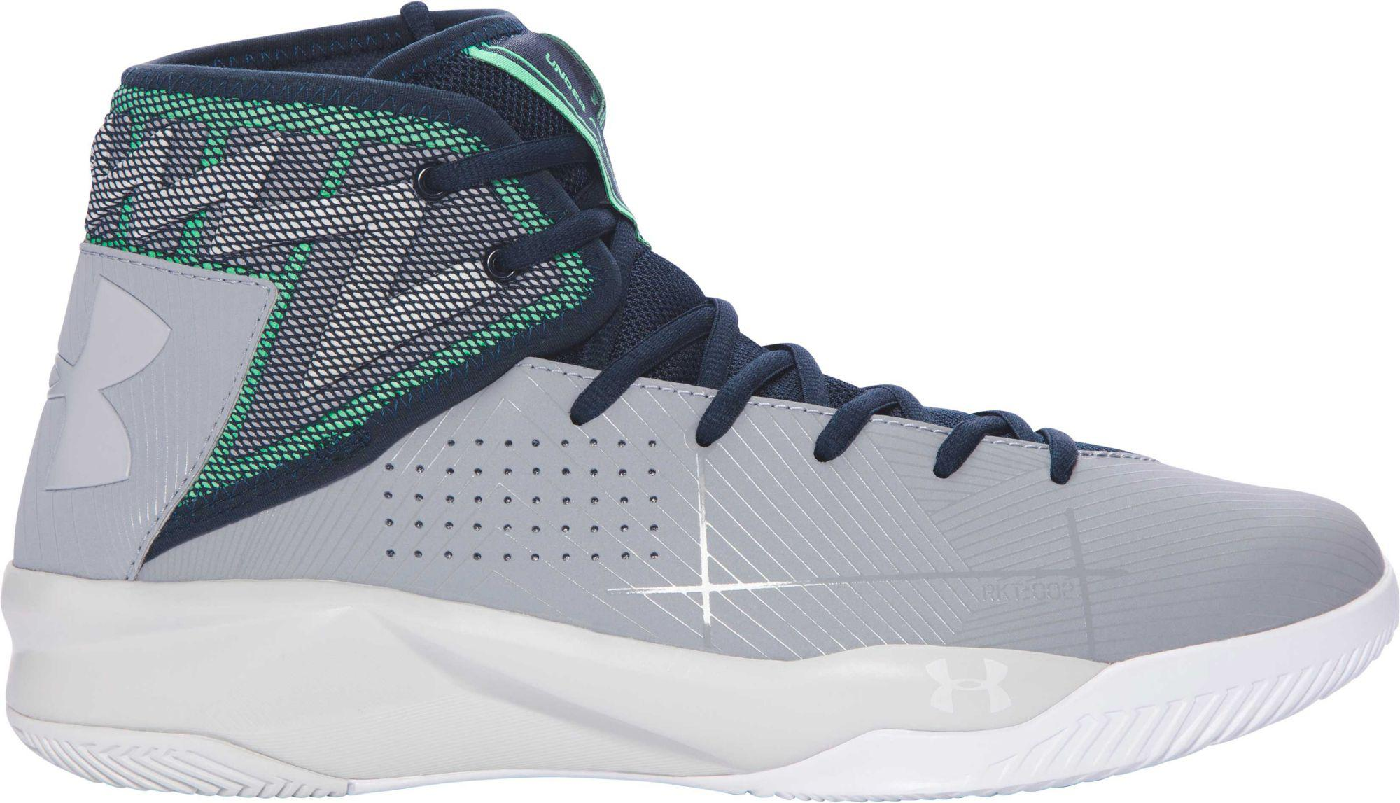 cb908135f694 Lyst - Under Armour Rocket 2 Basketball Shoes in Gray for Men