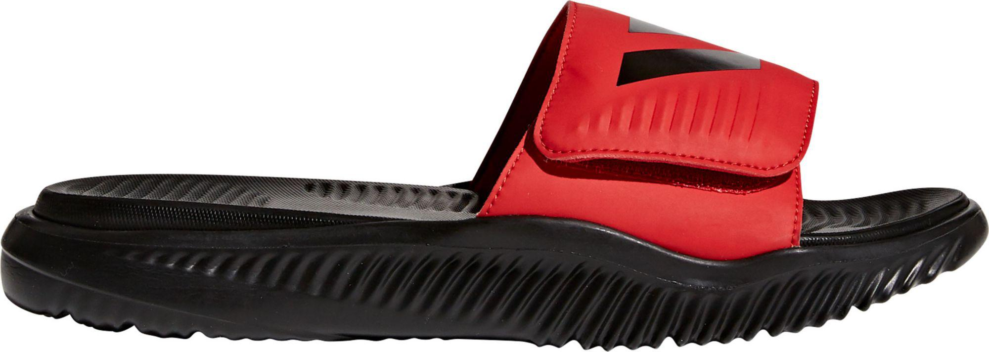 the latest 425d8 38fd1 Adidas - Black Alphabounce Slides for Men - Lyst