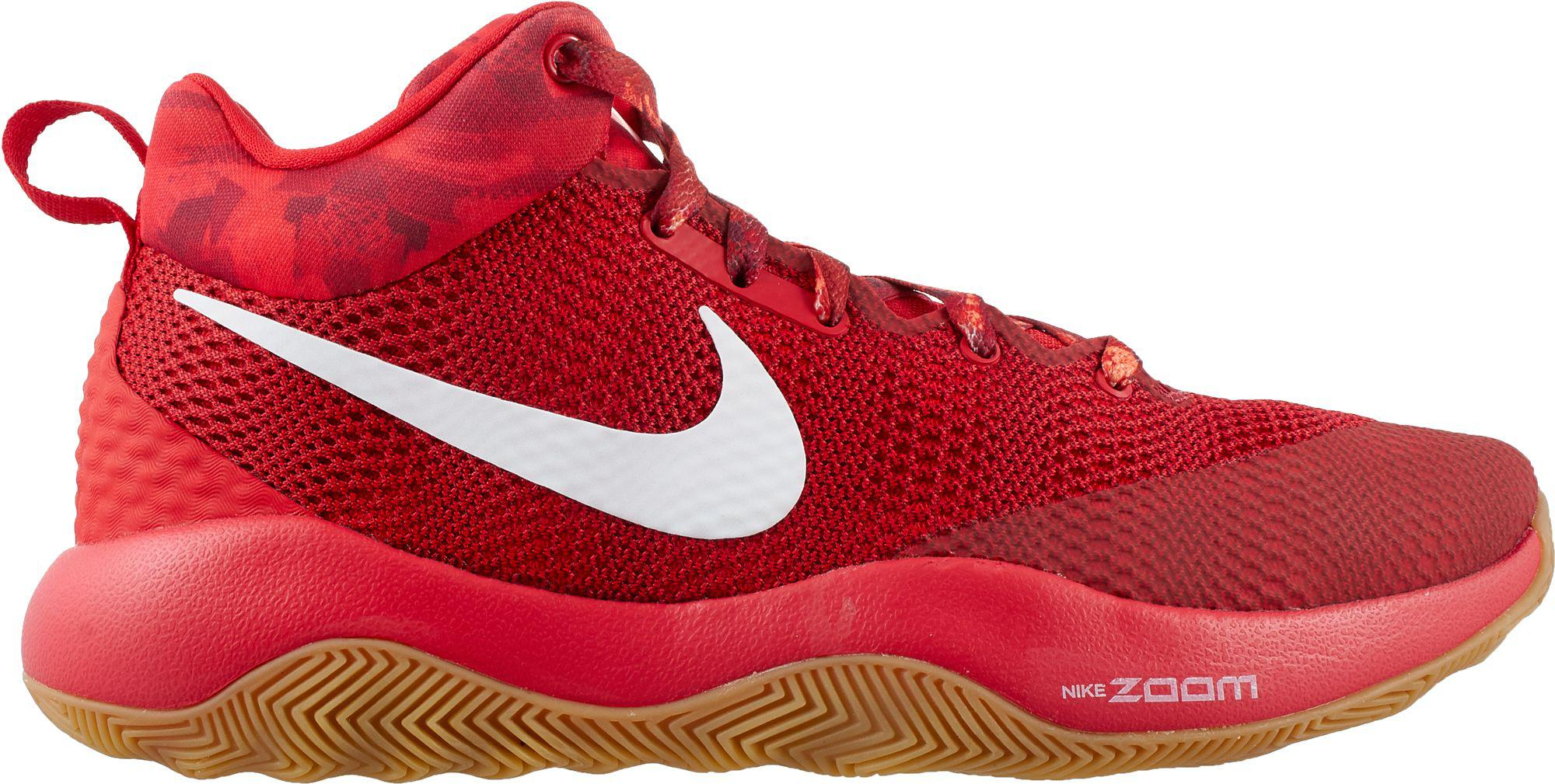 best service ba849 c15ec Nike Zoom Rev 2017 Basketball Shoes in Red for Men - Lyst