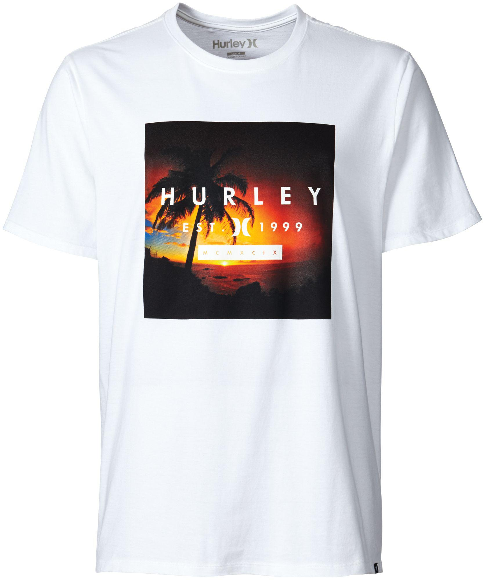 Lyst Hurley Freddy Booth T Shirt In White For Men Gallery