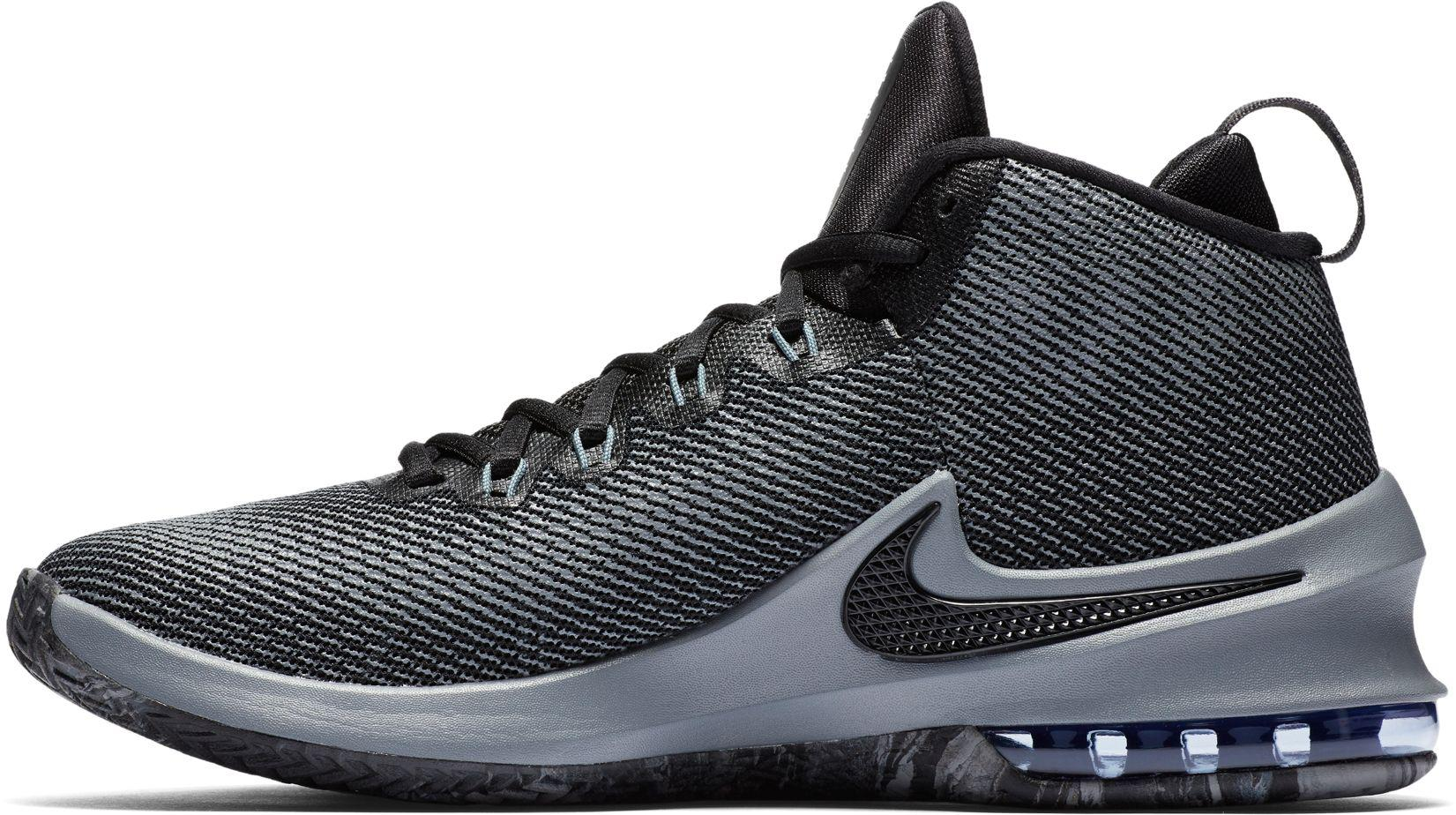 finest selection 2aad2 155b4 Nike - Black Air Max Infuriate Mid Premium Basketball Shoes for Men - Lyst