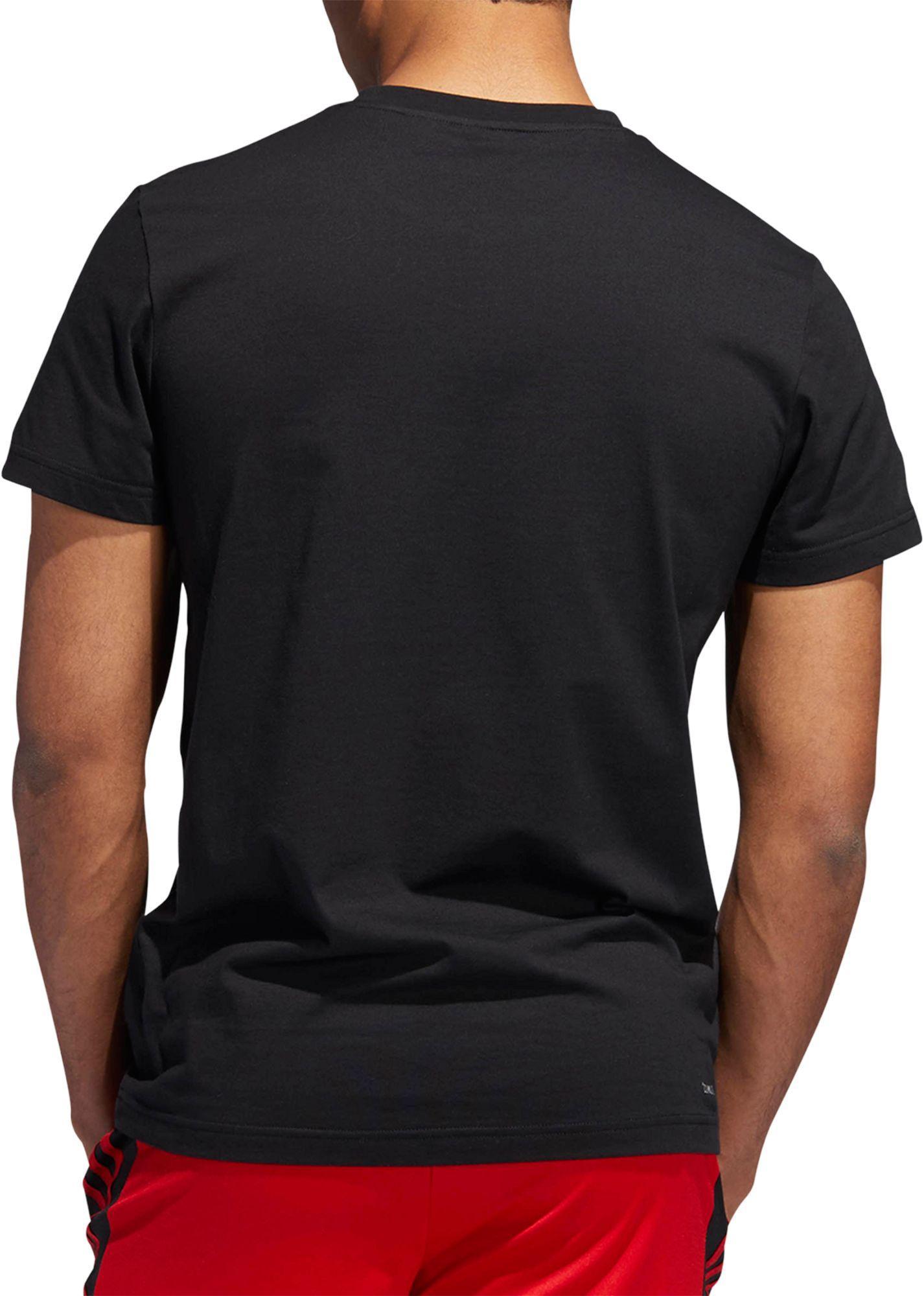 9d76acbafb41 Lyst - adidas T-mac Mz Graphic Basketball T-shirt in Black for Men
