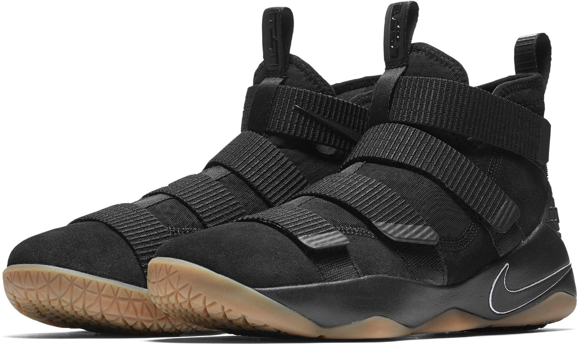 the best attitude 8a876 1785a Nike - Black Zoom Lebron Soldier Xi Basketball Shoes for Men - Lyst