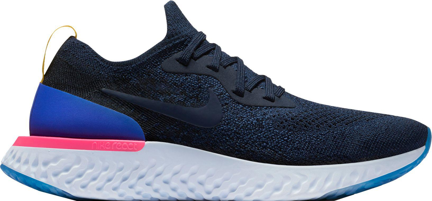 separation shoes 369e6 2fb6d ... best nike blue epic react flyknit running shoes for men lyst c6314 5fb84