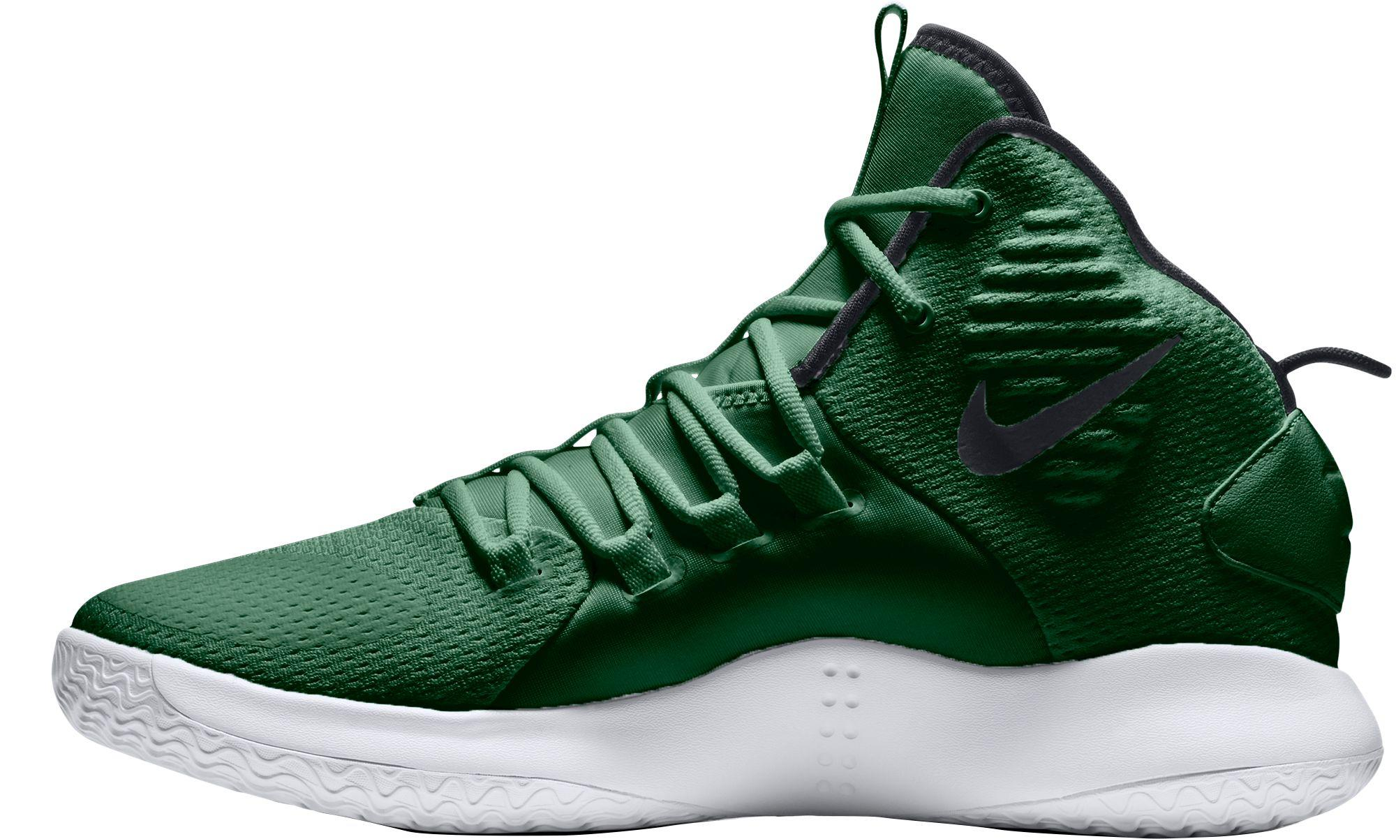 f46bc192e0ab Lyst - Nike Hyperdunk X Mid Tb Basketball Shoes in Green for Men