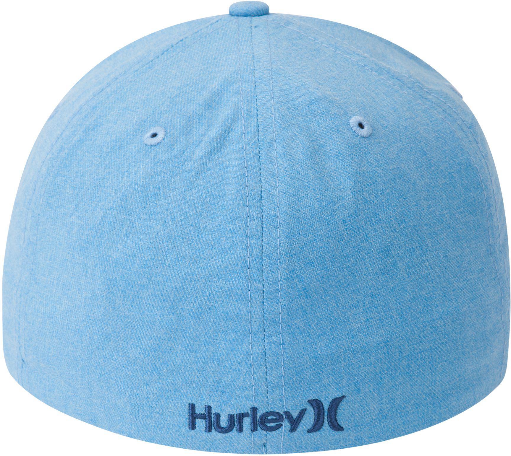 premium selection 8d5fa 25f83 Hurley Dri-fit Heather Flexfit Hat in Blue for Men - Lyst