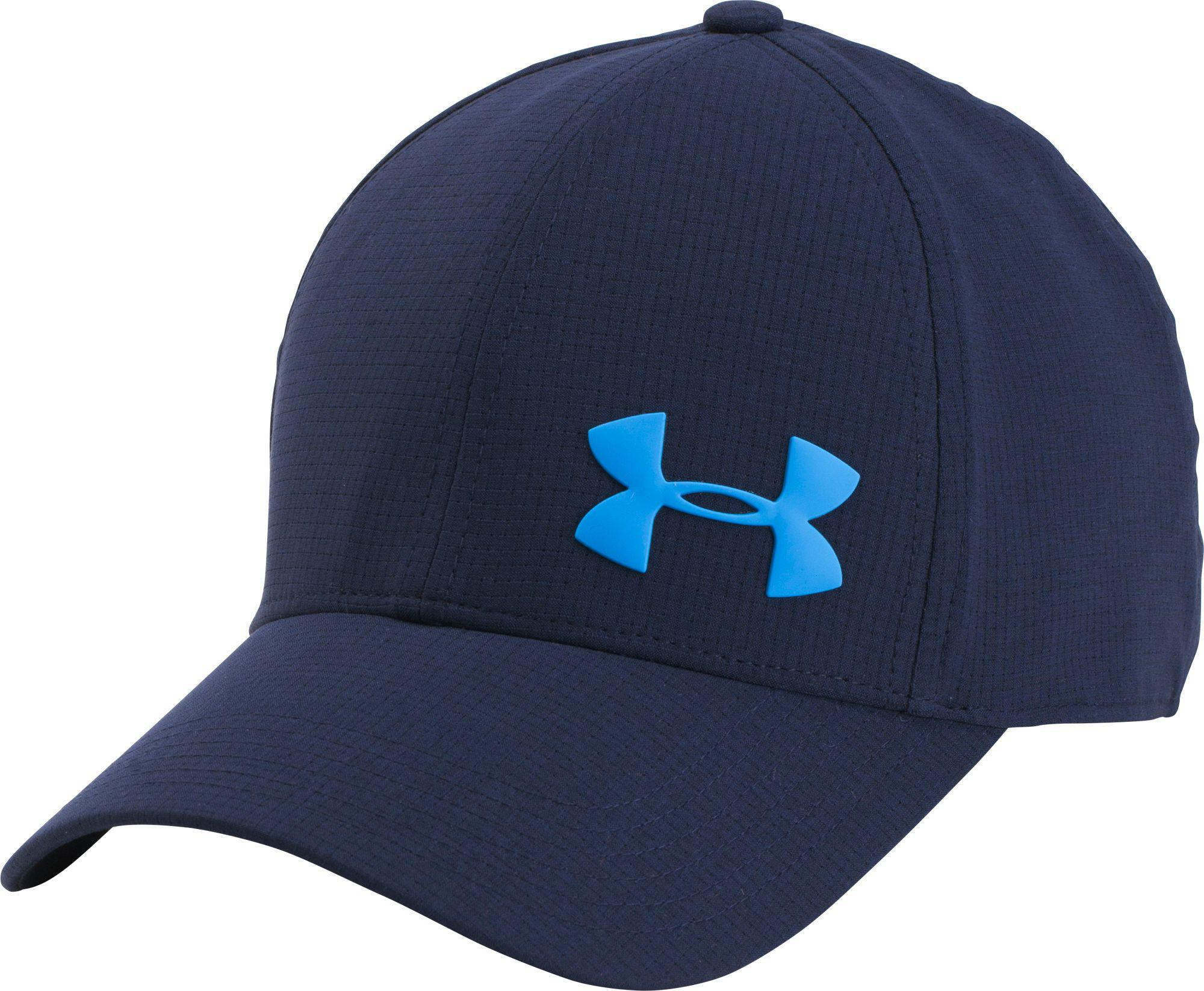 Lyst - Under Armour Airvent Core Hat in Blue for Men 5d2c0d31377e