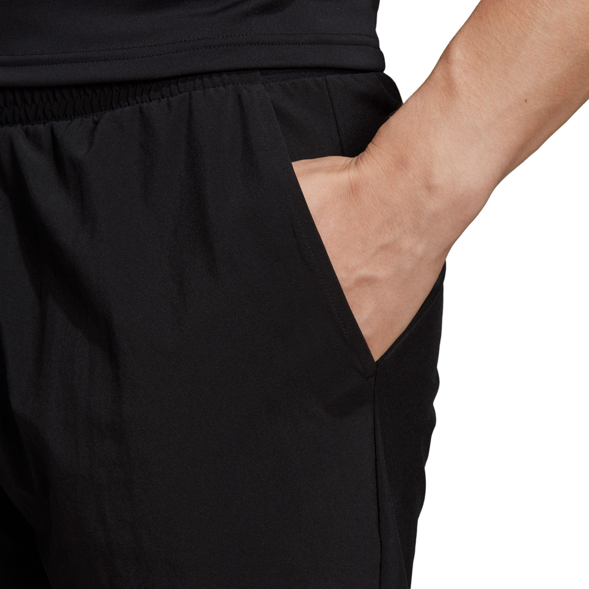 8d61b7d0693b adidas Club Stretch Woven Tennis Shorts in Black for Men - Lyst