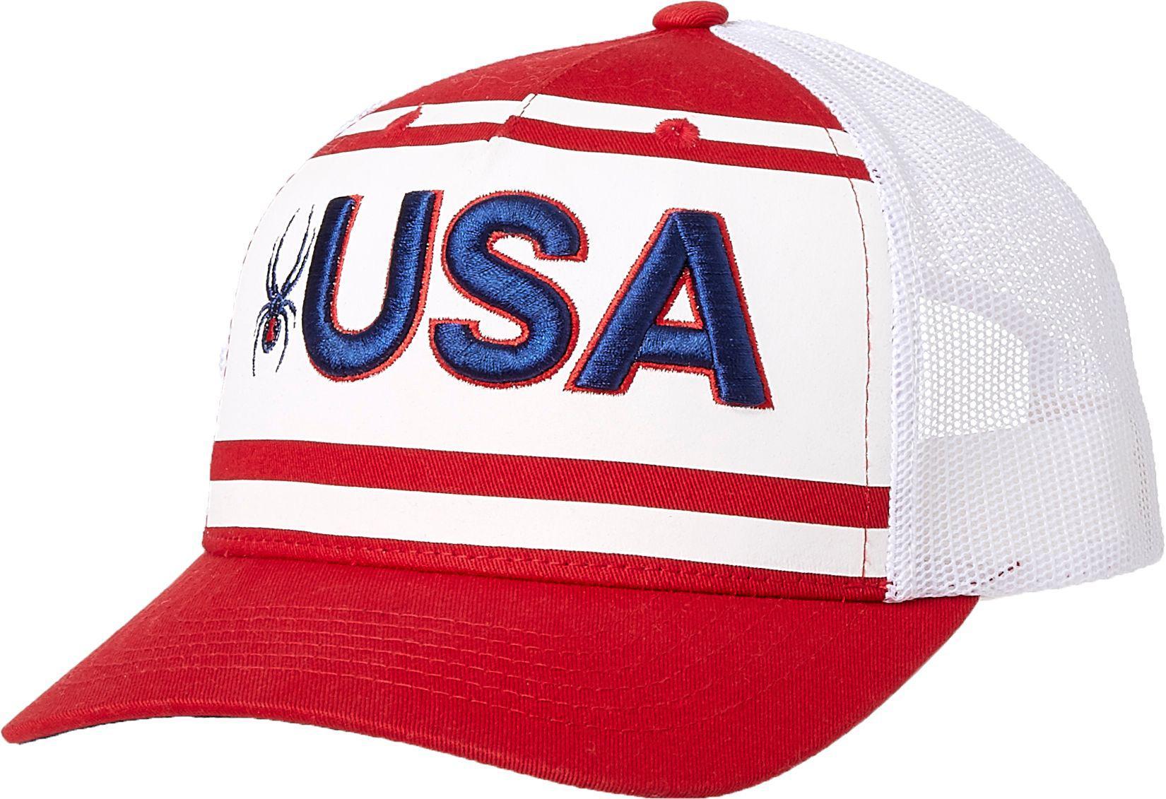 66ca015177e Lyst - Spyder Usa Trucker Hat for Men