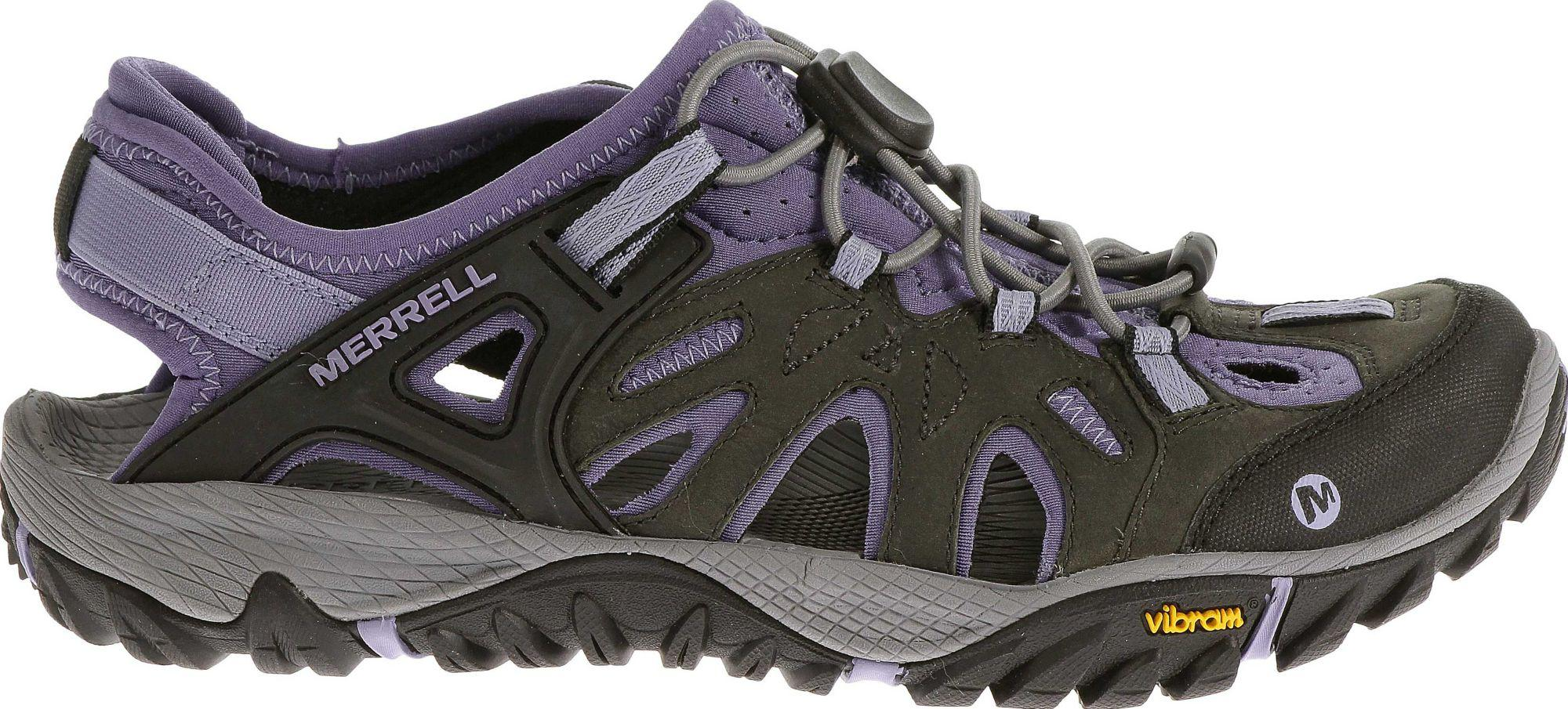 1927810e358e Merrell - Black All Out Blaze Sieve Sandals for Men - Lyst. View fullscreen