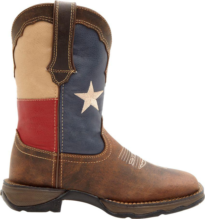 7c815961c3c Durango - Brown Patriotic Pull-on Western Boots - Lyst