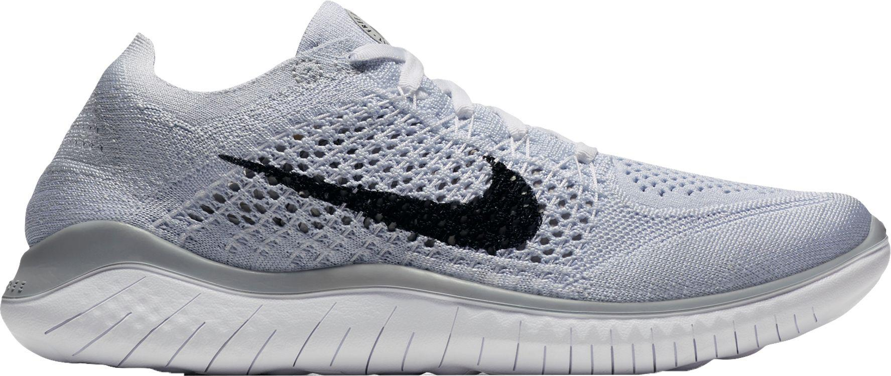 4c8f1e7aa5be Lyst - Nike Free Rn Flyknit 2018 Running Shoes in Gray