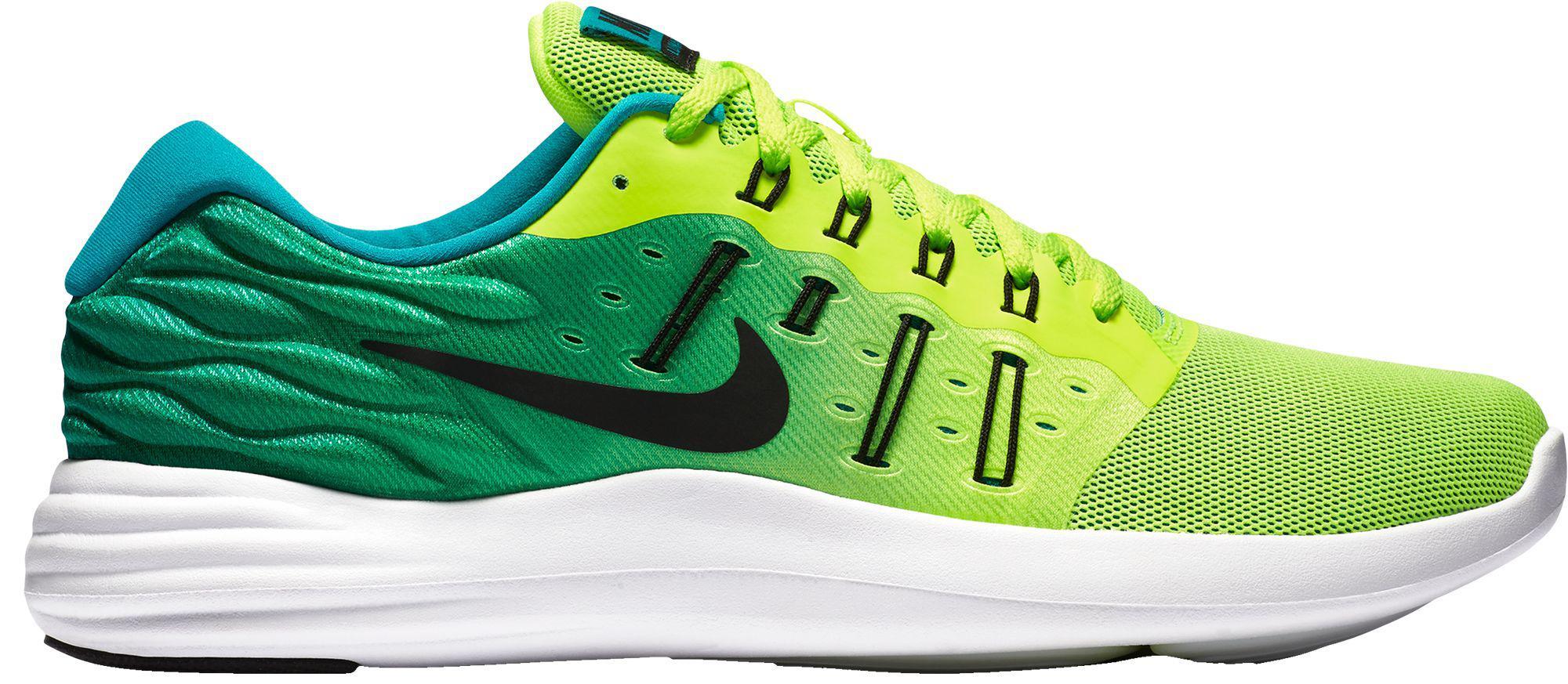 hot sale online 86bde 86e71 Nike - Green Lunarstelos Running Shoes for Men - Lyst