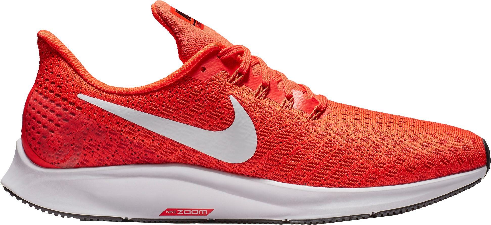 huge selection of 60fe6 ed3f2 Men's Red Air Zoom Pegasus 35 Running Shoes