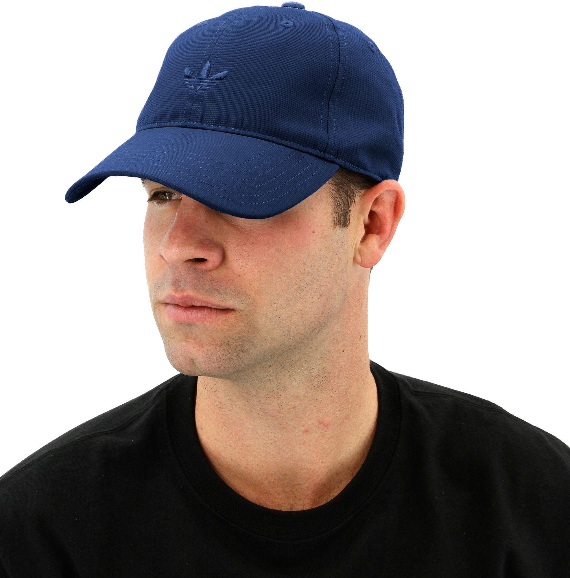 Lyst - adidas Originals Relaxed Modern Cap in Blue for Men 8651d3c697d