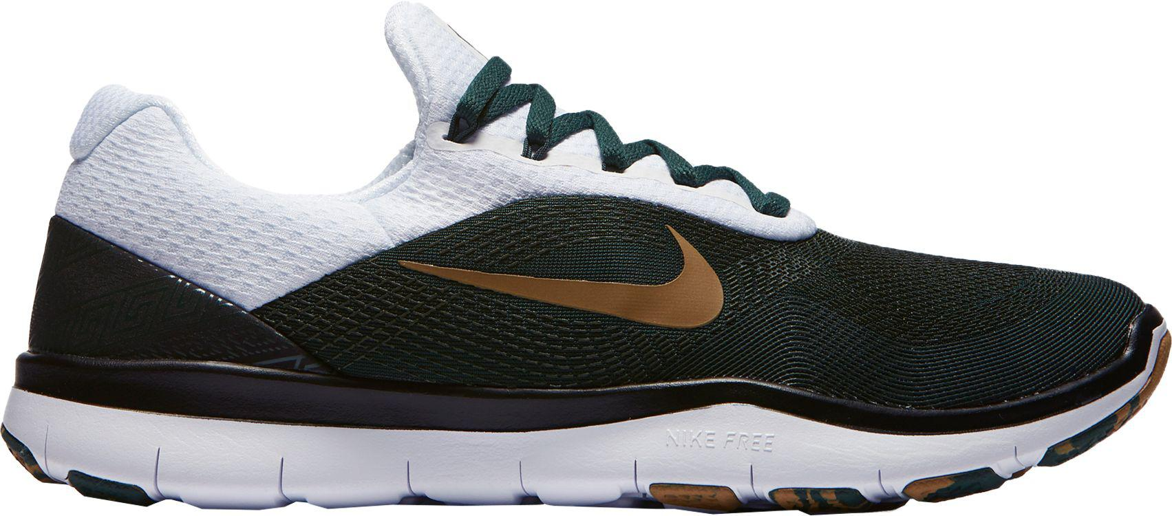 a58d732f5d Nike - Multicolor Free Trainer V7 Week Zero Michigan State Edition Training  Shoes for Men -