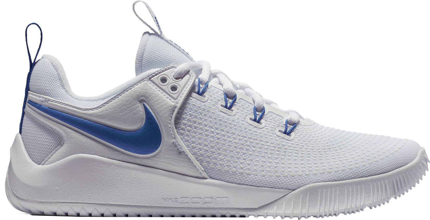 new concept 7797e eedb9 Nike - Blue Zoom Hyperace 2 Volleyball Shoes - Lyst