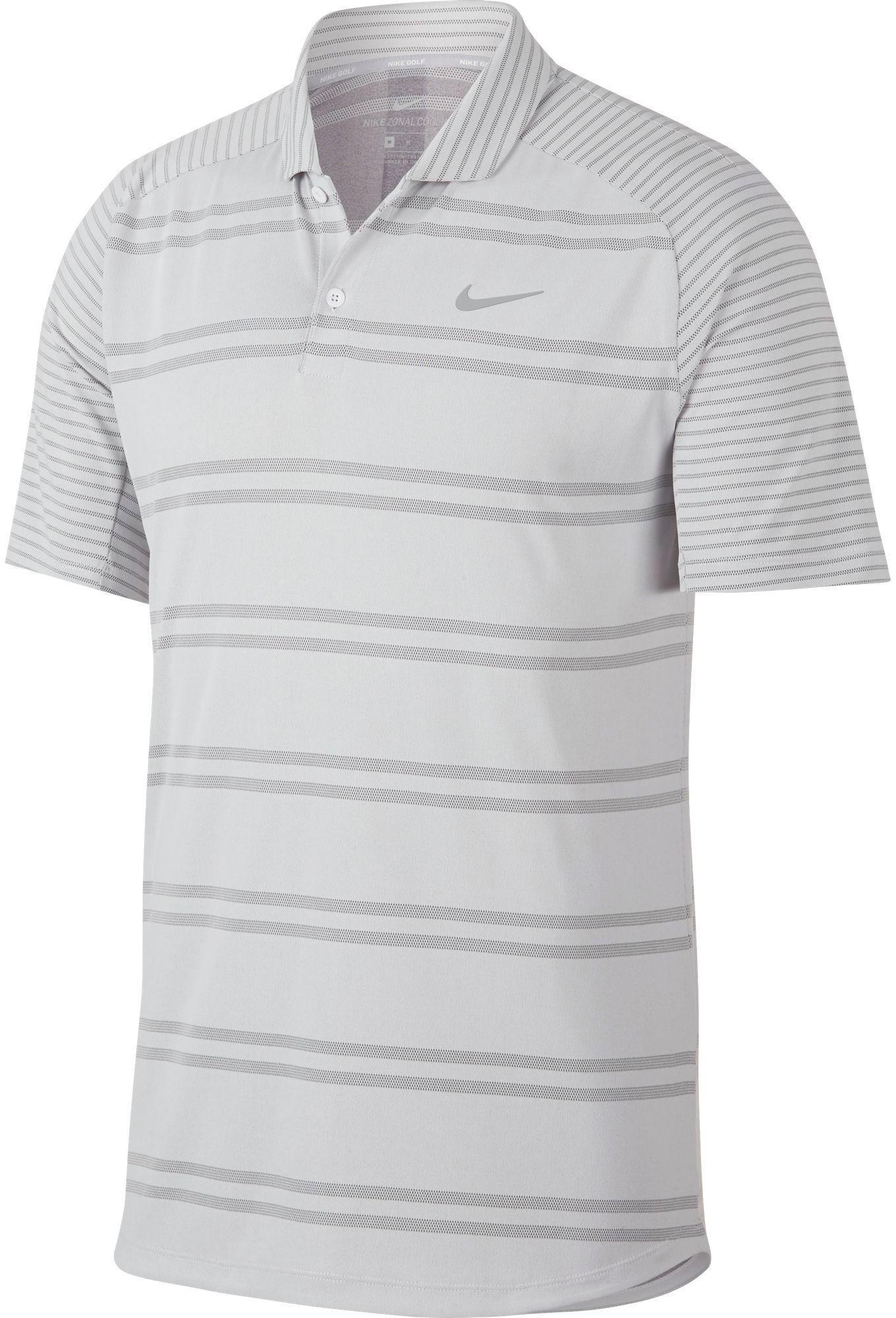 e773ff21 Lyst - Nike Zonal Cooling Stripe Raglan Golf Polo in White for Men