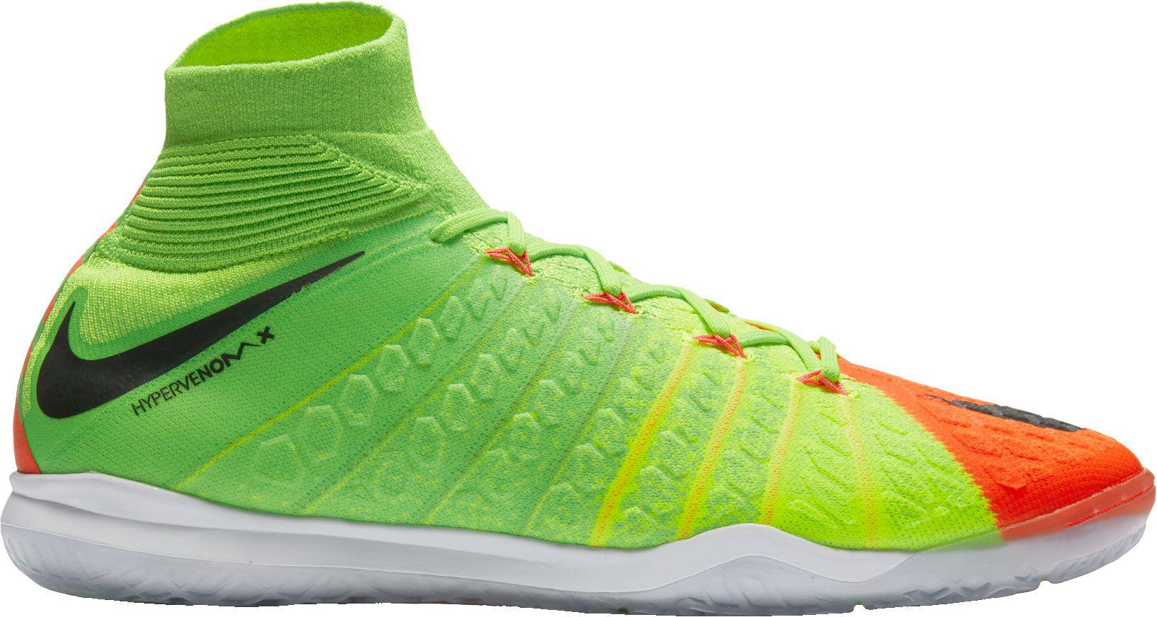 70469186888 Nike Hypervenomx Proximo Ii Dynamic Fit Indoor Soccer Shoes in Green ...