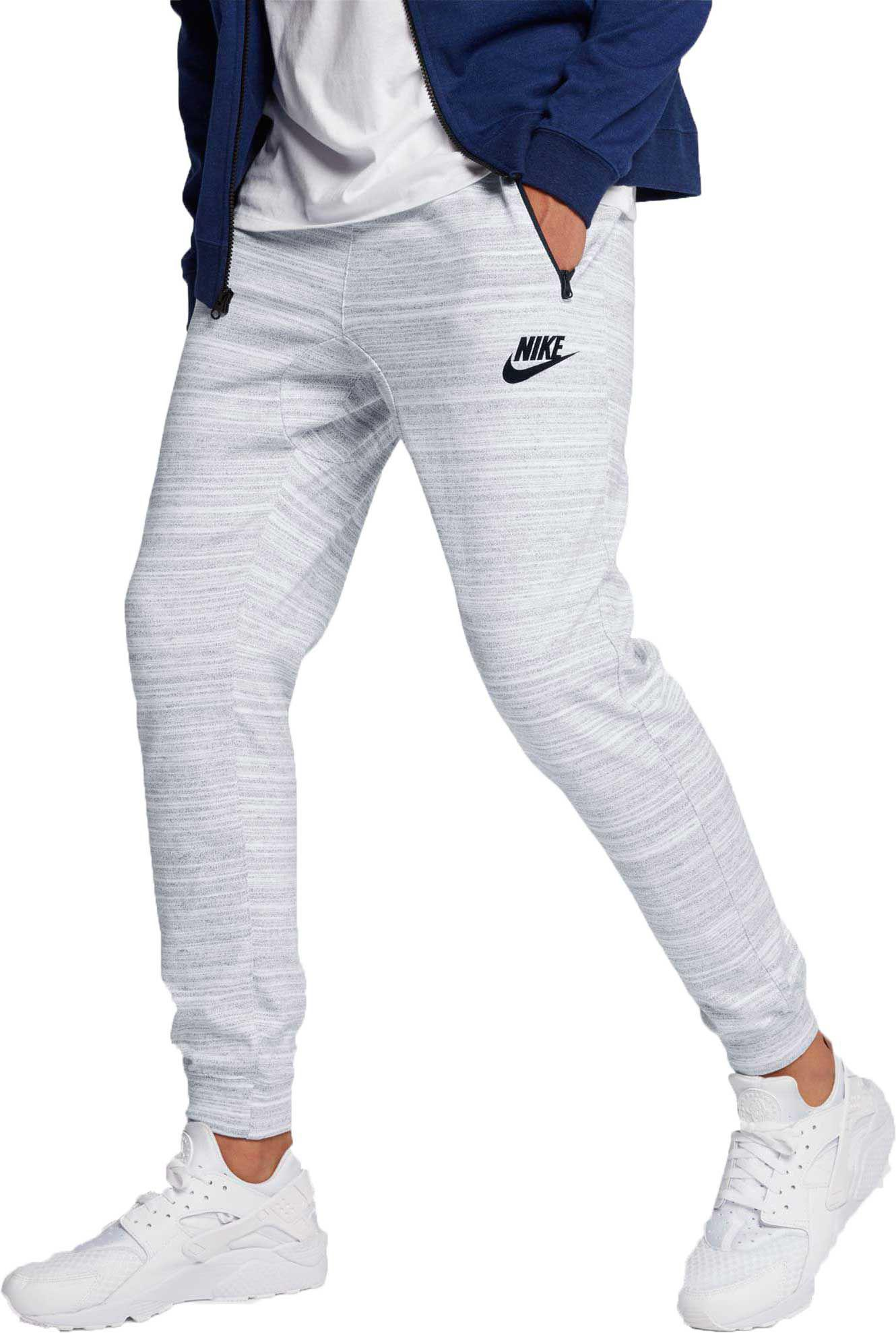 18ec095a7d4c Nike Mens Nsw Av15 Jogger Knit Sweatpants