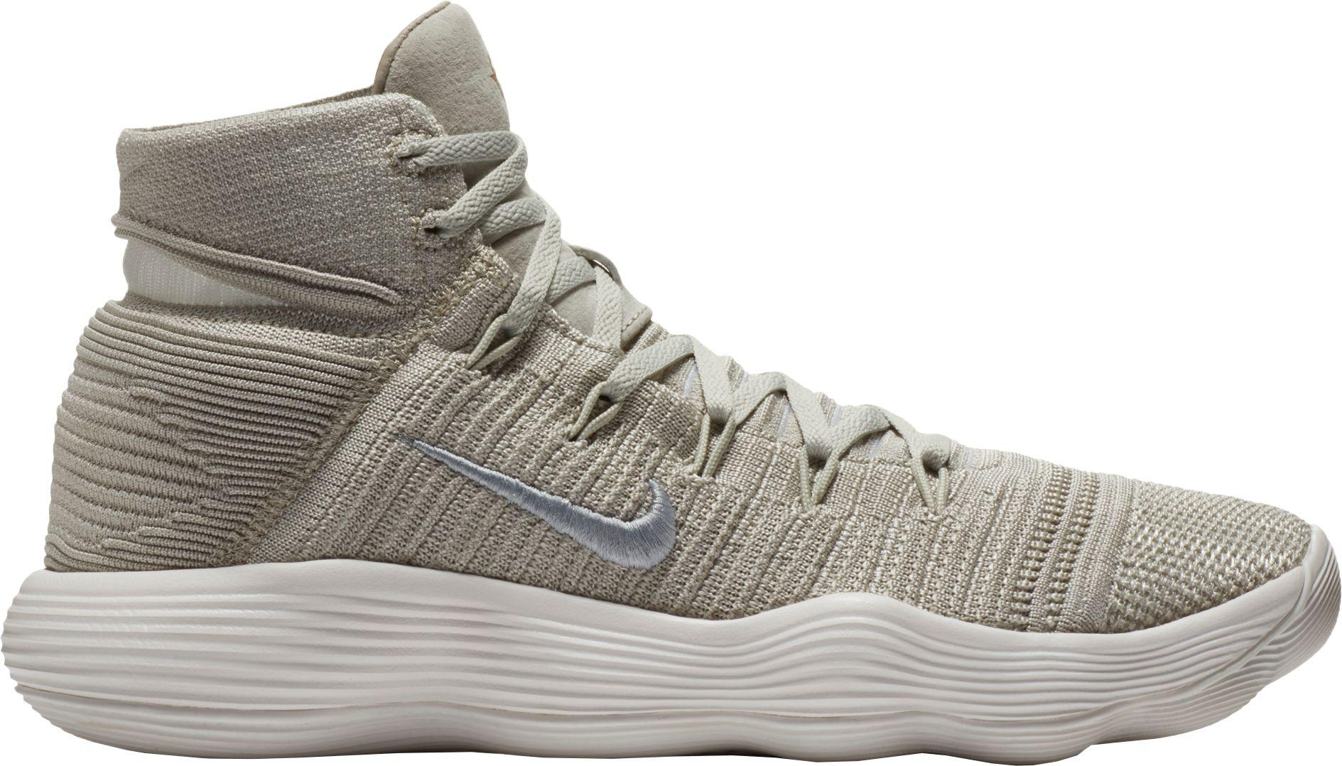 ccb47b6a359f43 ... Nike - Gray React Hyperdunk 2017 Flyknit Basketball Shoes for Men - Lyst  look good shoes ...
