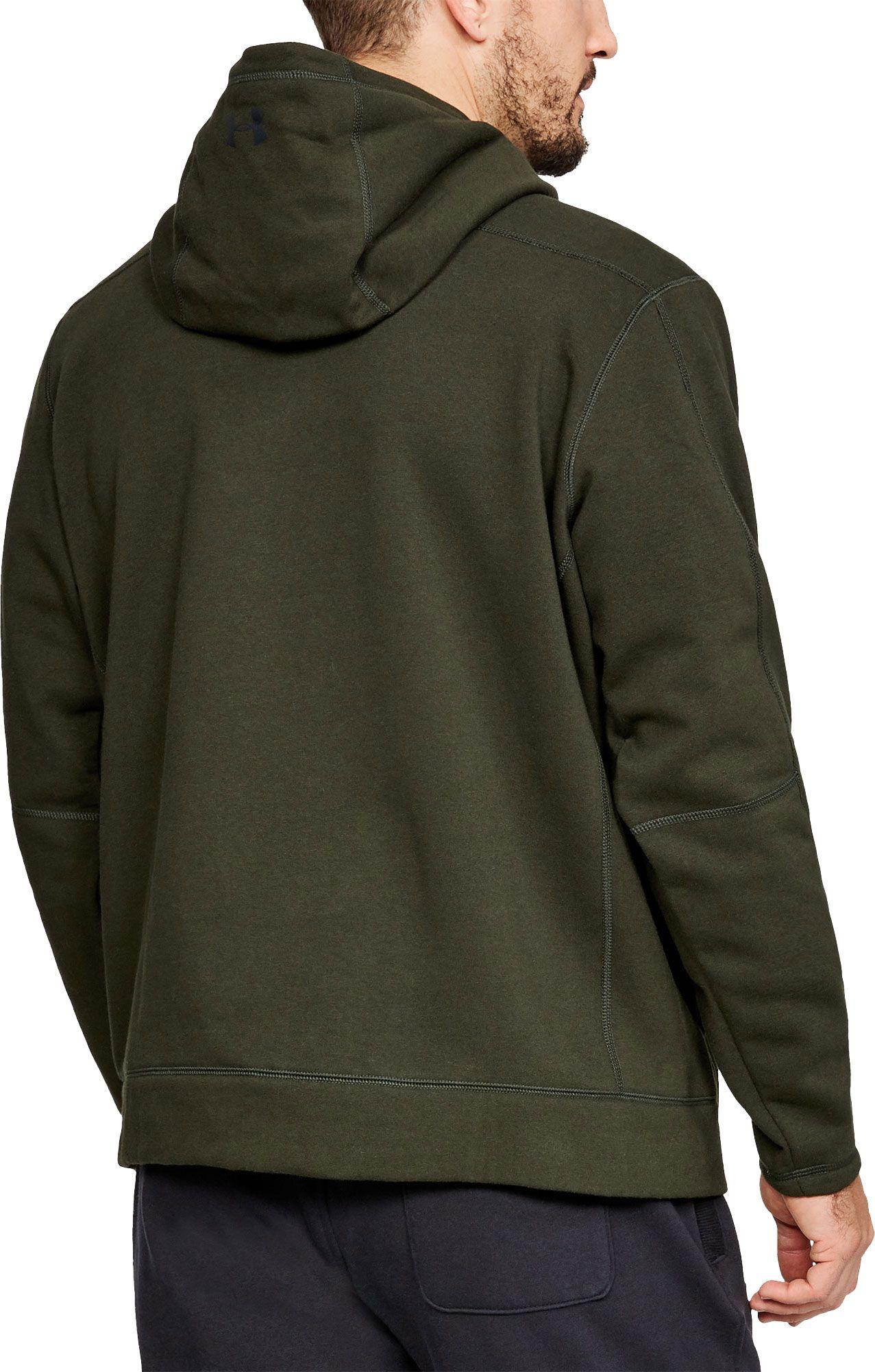 54bb0bb70 Lyst - Under Armour Rival Fleece Hunt Icon Hoodie in Green for Men under  armour men's