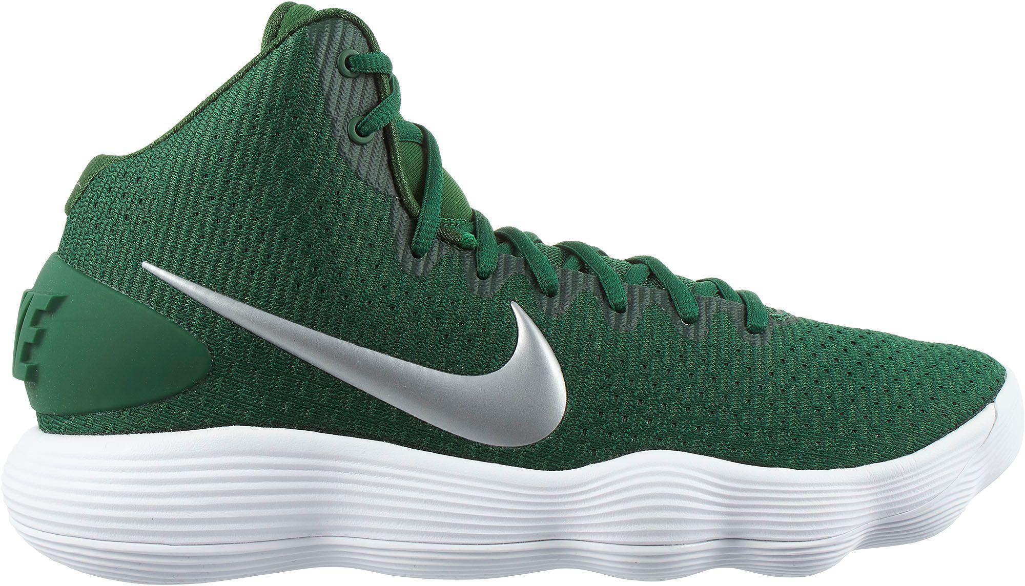 29b6e4d0927b Nike React Hyperdunk 2017 Basketball Shoes in Green for Men - Lyst