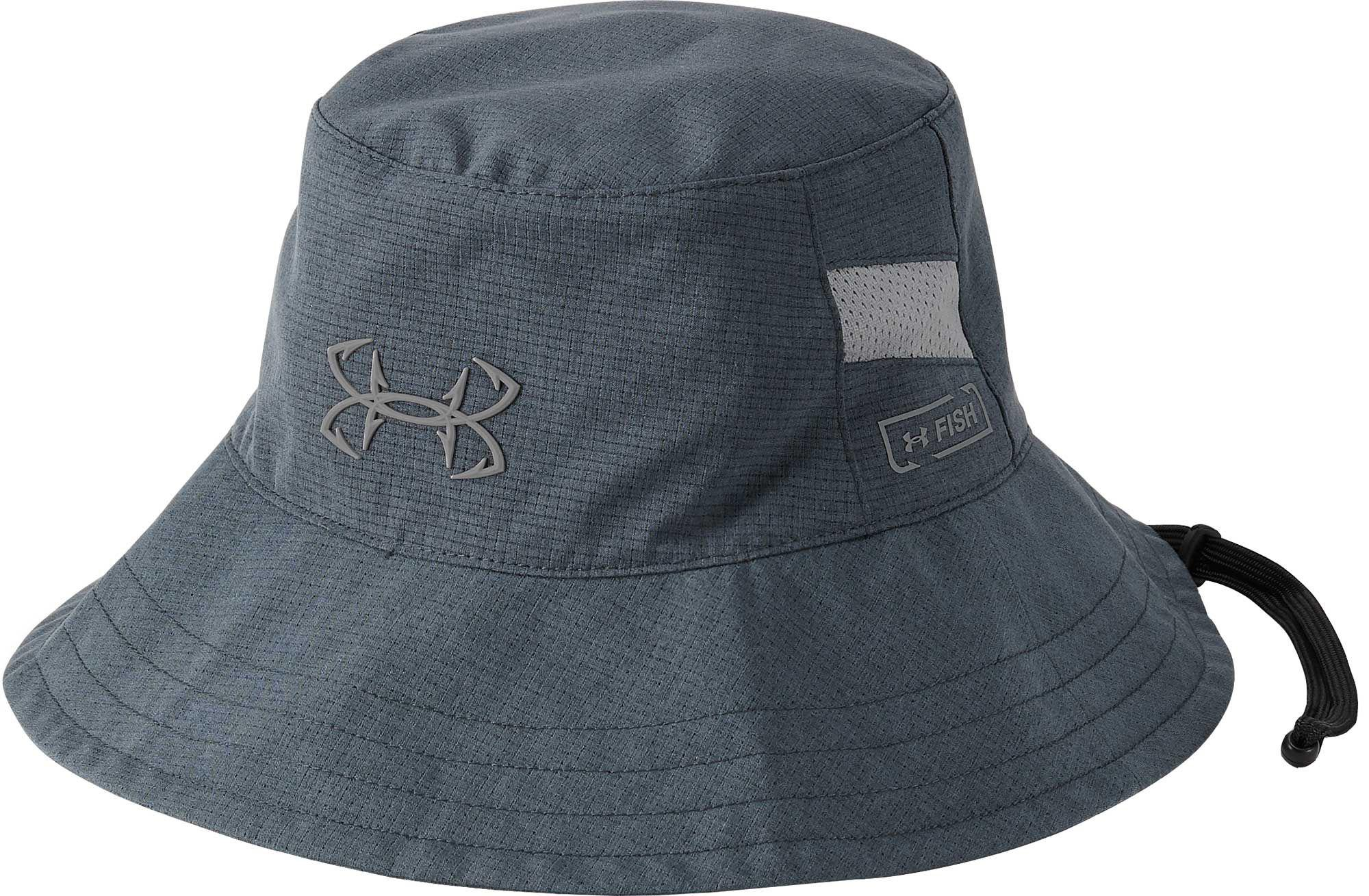 2a34a24359758 Under Armour Thermocline Bucket Hat in Gray for Men - Lyst