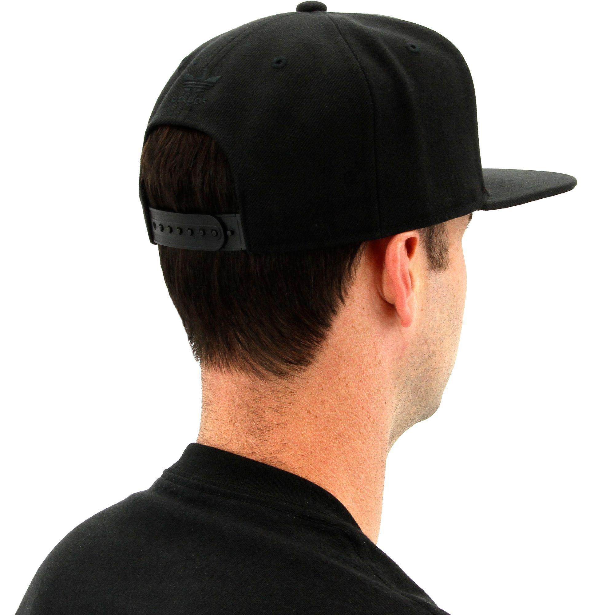 a550b5aa220 ... where to buy lyst adidas originals trefoil chain snapback hat in black  for men feba2 20021