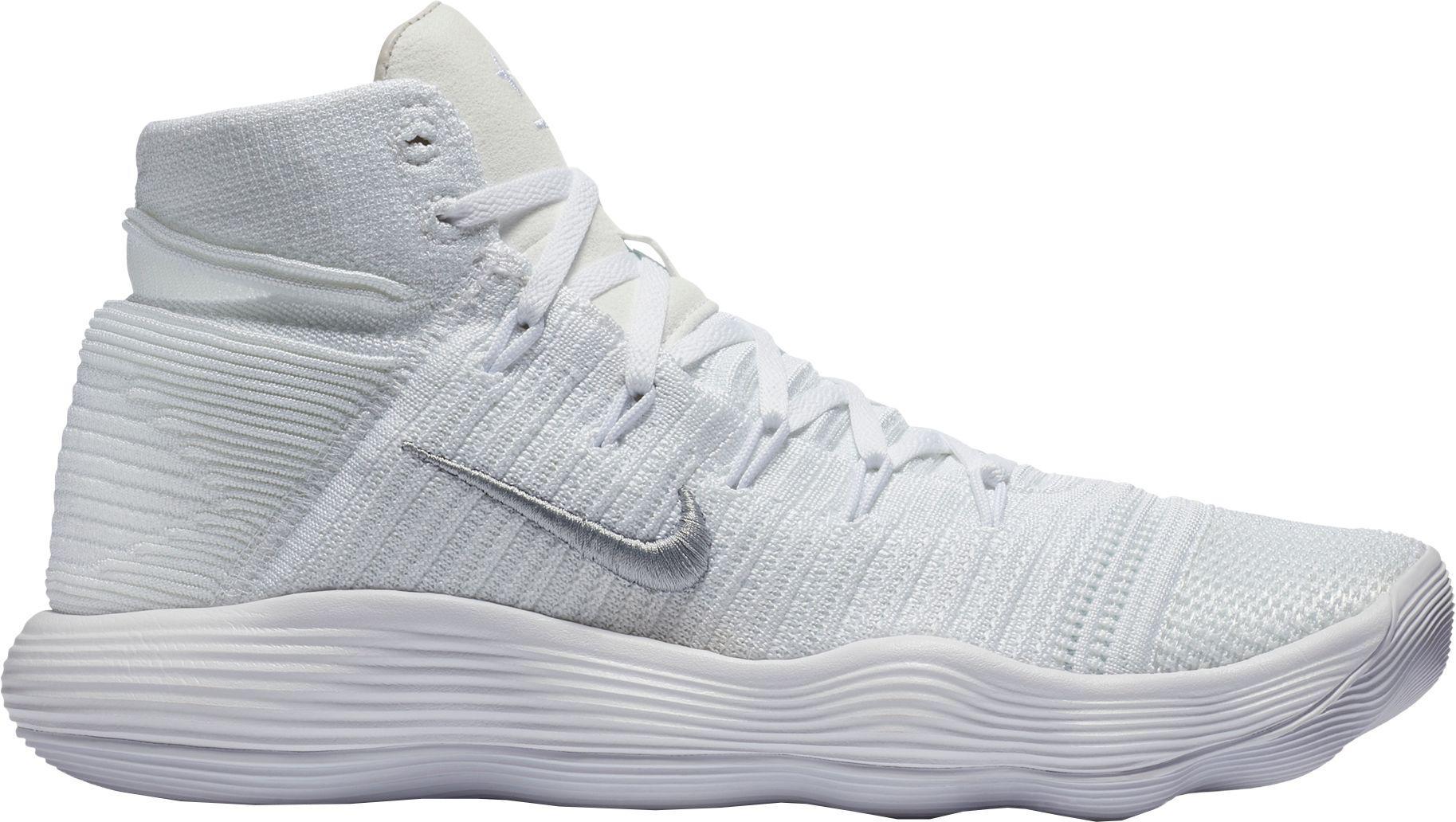 6a5d1ab535dcd Nike - White React Hyperdunk 2017 Flyknit Basketball Shoes for Men - Lyst