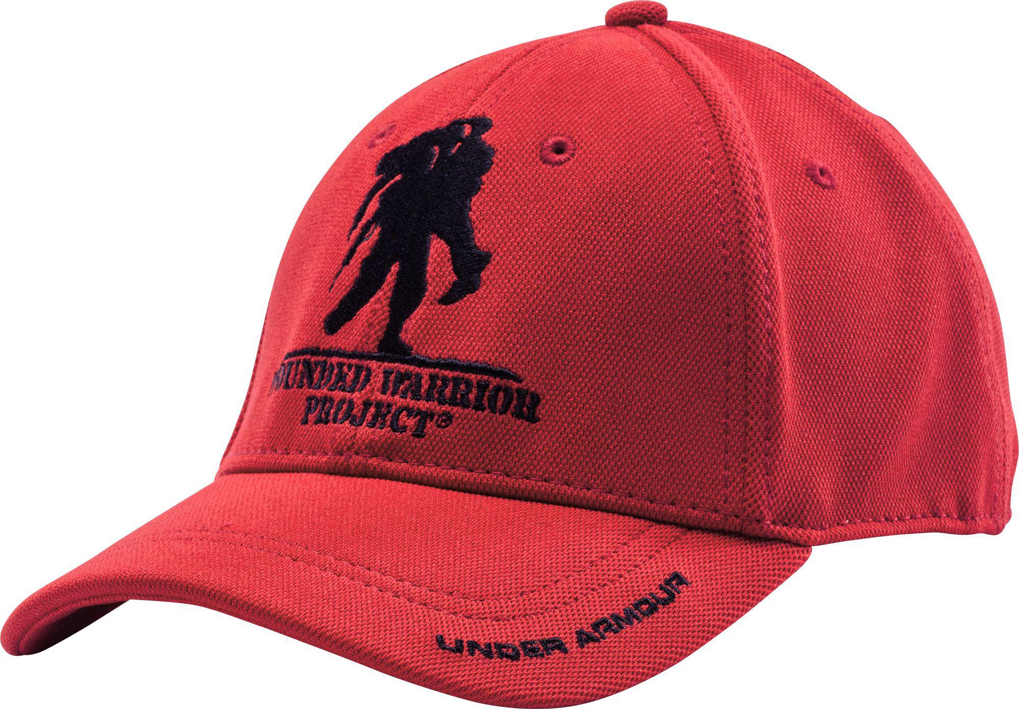 Lyst - Under Armour Wounded Warrior Project Snapback Hat in Red for Men 9761bc319910