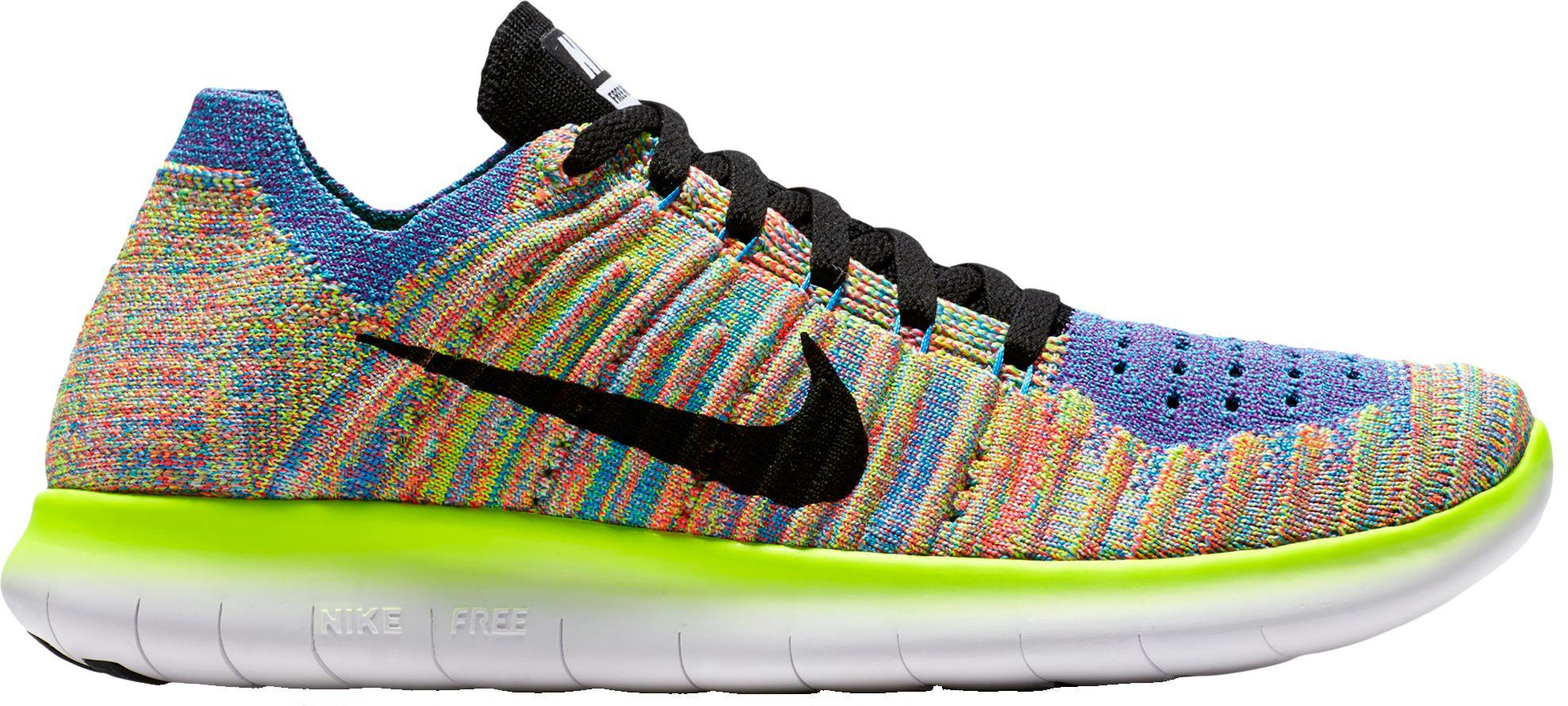 573b5e31bd4 Nike - Multicolor Free Rn Flyknit Running Shoes for Men - Lyst