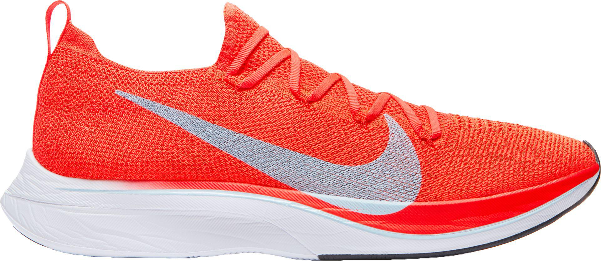 new concept a09cf 1cc7b Nike - Red Vaporfly 4% Flyknit Running Shoes for Men - Lyst