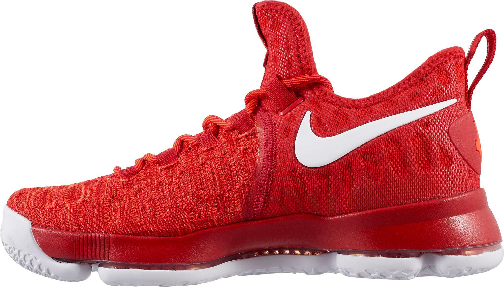 Nike - Red Zoom Kd 9 Basketball Shoes for Men - Lyst