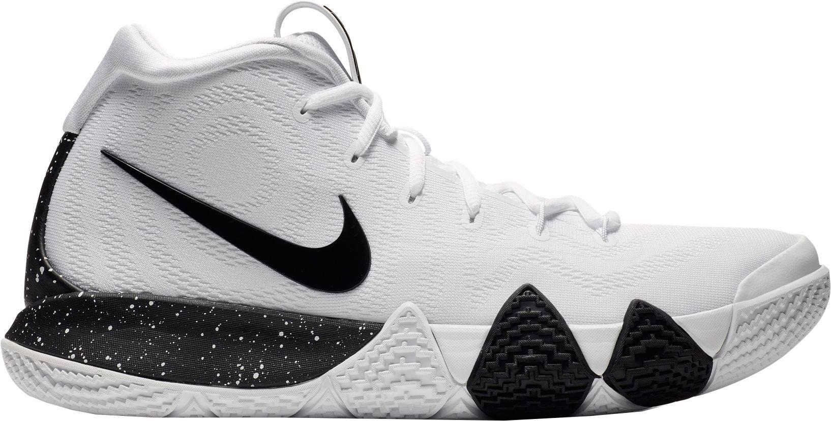 da4fdeb10157 Nike Kyrie 4 Tb Basketball Shoes in White for Men - Lyst