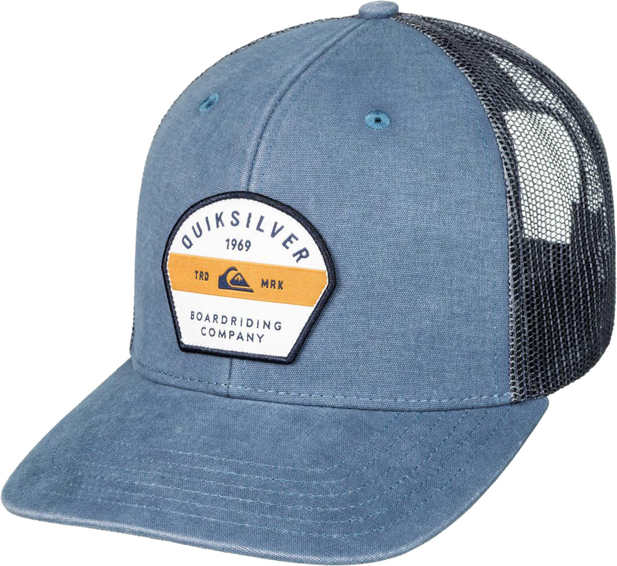 Lyst - Quiksilver Quicksilver Silver Lining Trucker Hat in Blue for Men 43b9bf3ca90