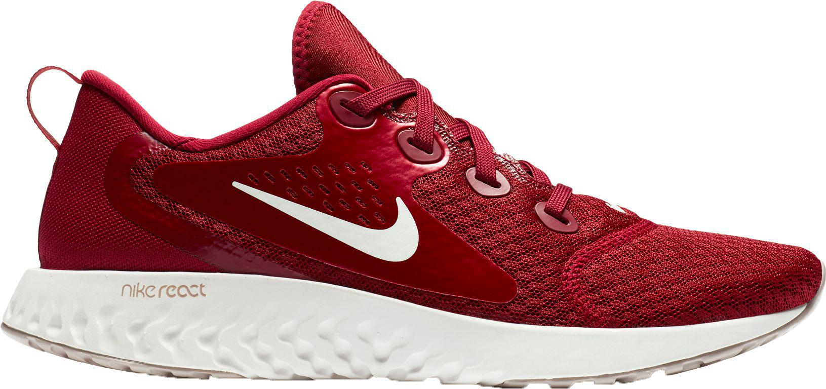 1a9bbcfea6a0 Lyst - Nike Legend React Running Shoes in Red