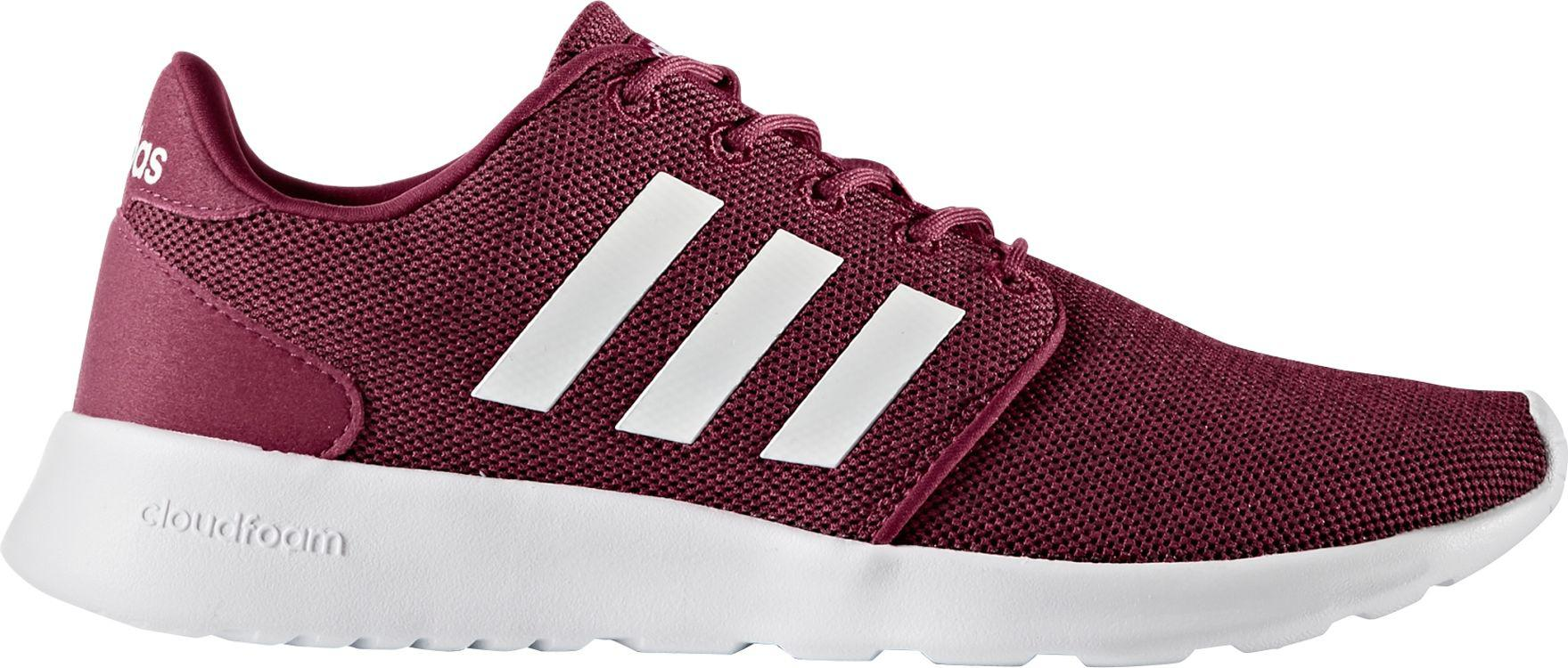 8aa6d358f Lyst - adidas Cloudfoam Qt Racer Shoes in Red