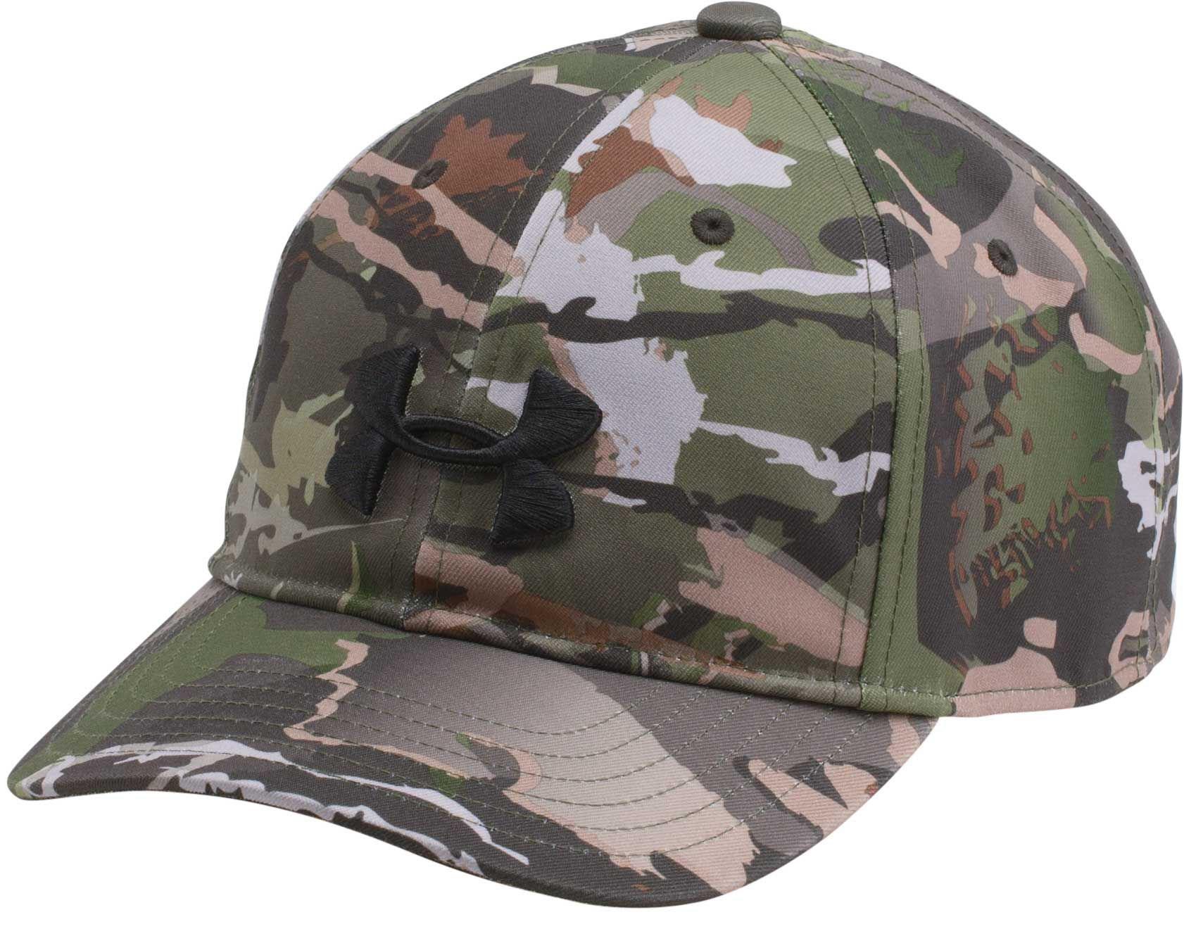 ea90e8f645a ... shopping under armour. mens gray camo cap 2.0 hunting hat 56a41 15eb2